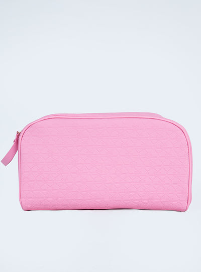 Jeffree Star Cosmetics X Shane Dawson Pink Double Zip Makeup Bag