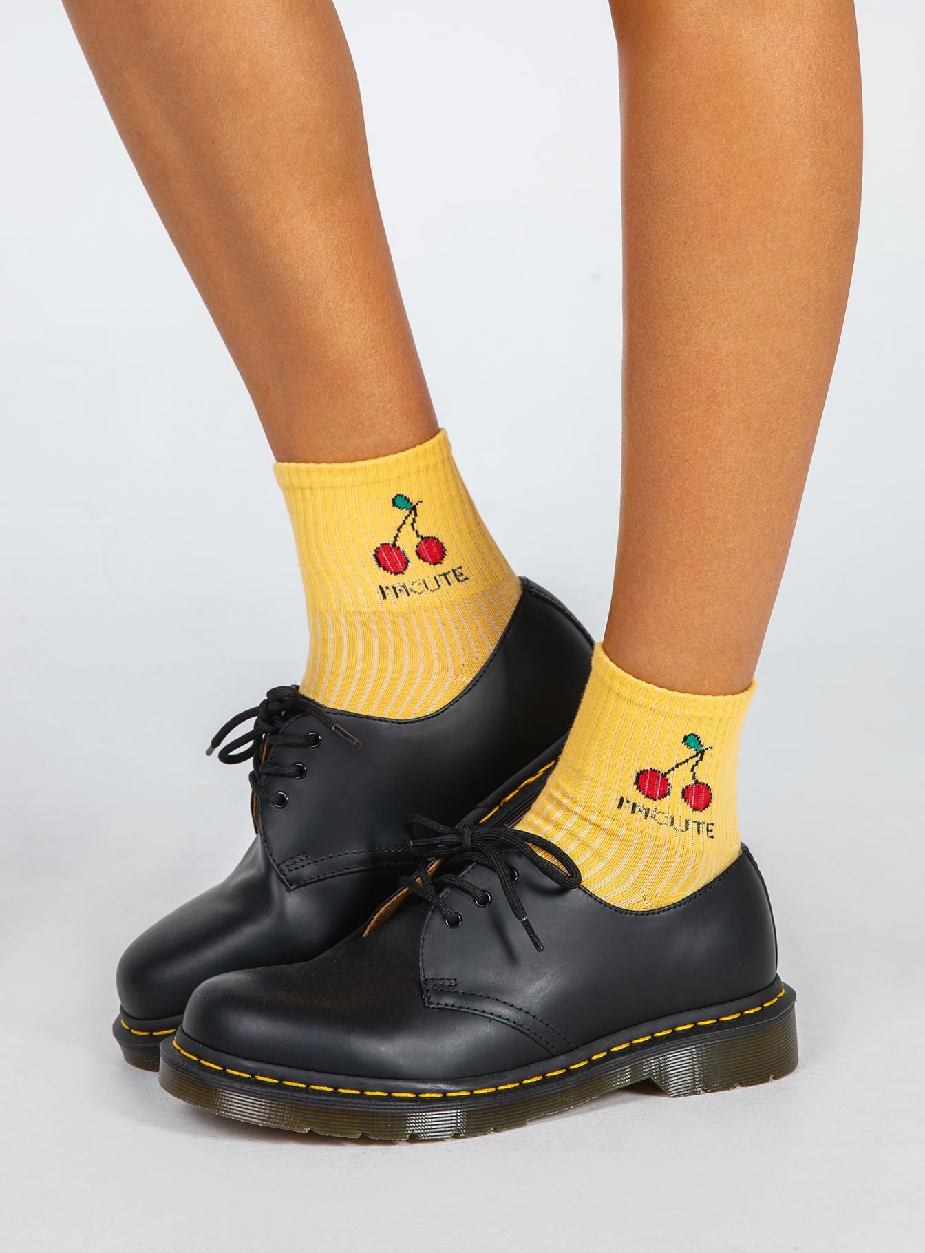 So Fruity Socks Yellow
