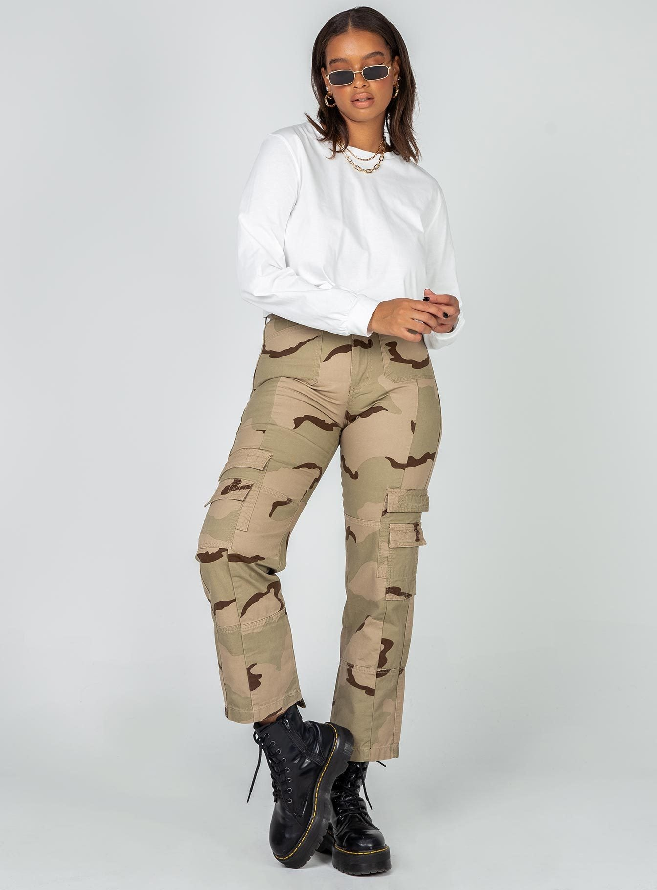 The Stacey Jeans Camo