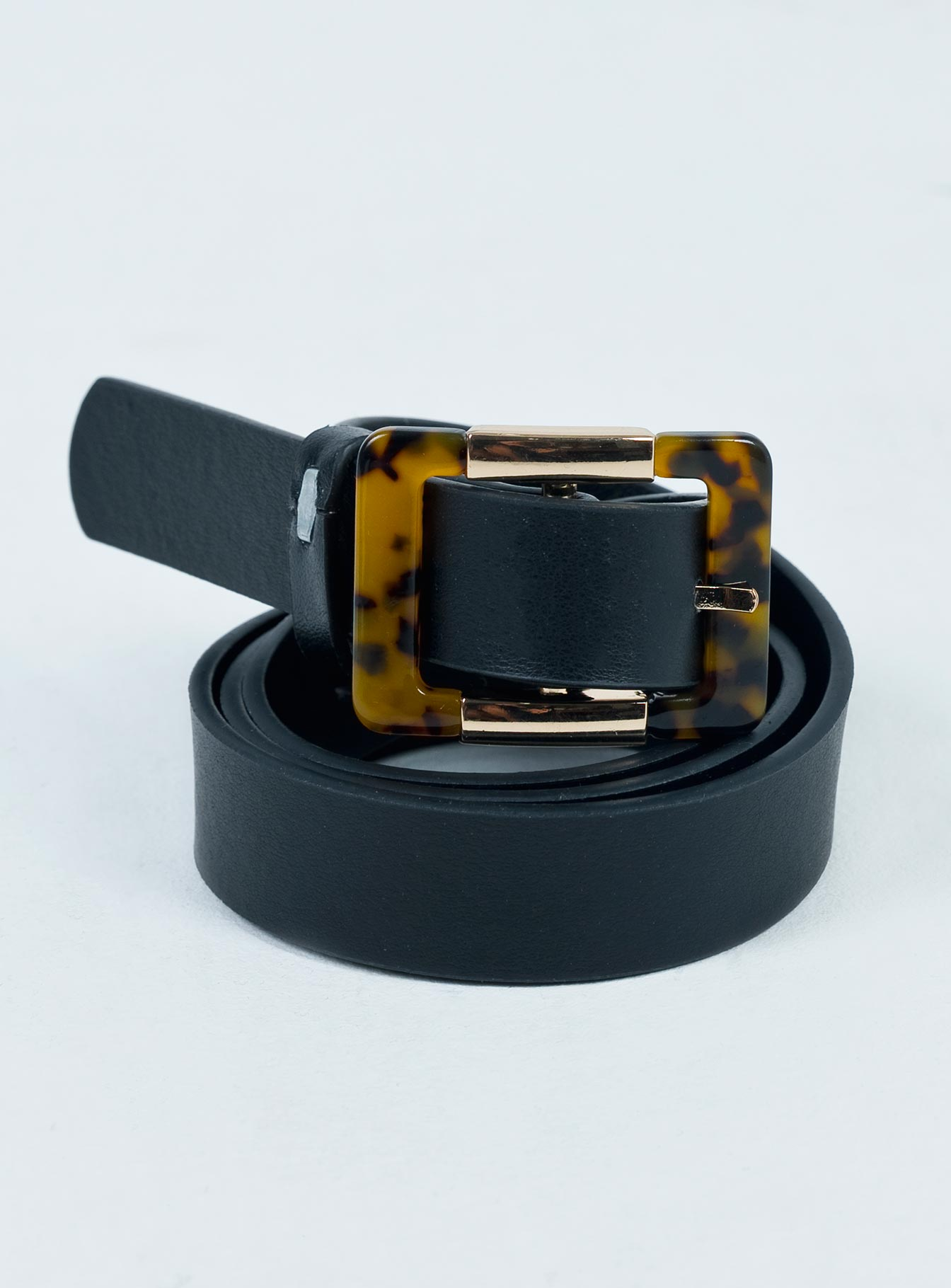 Better With You Belt Black / Tort