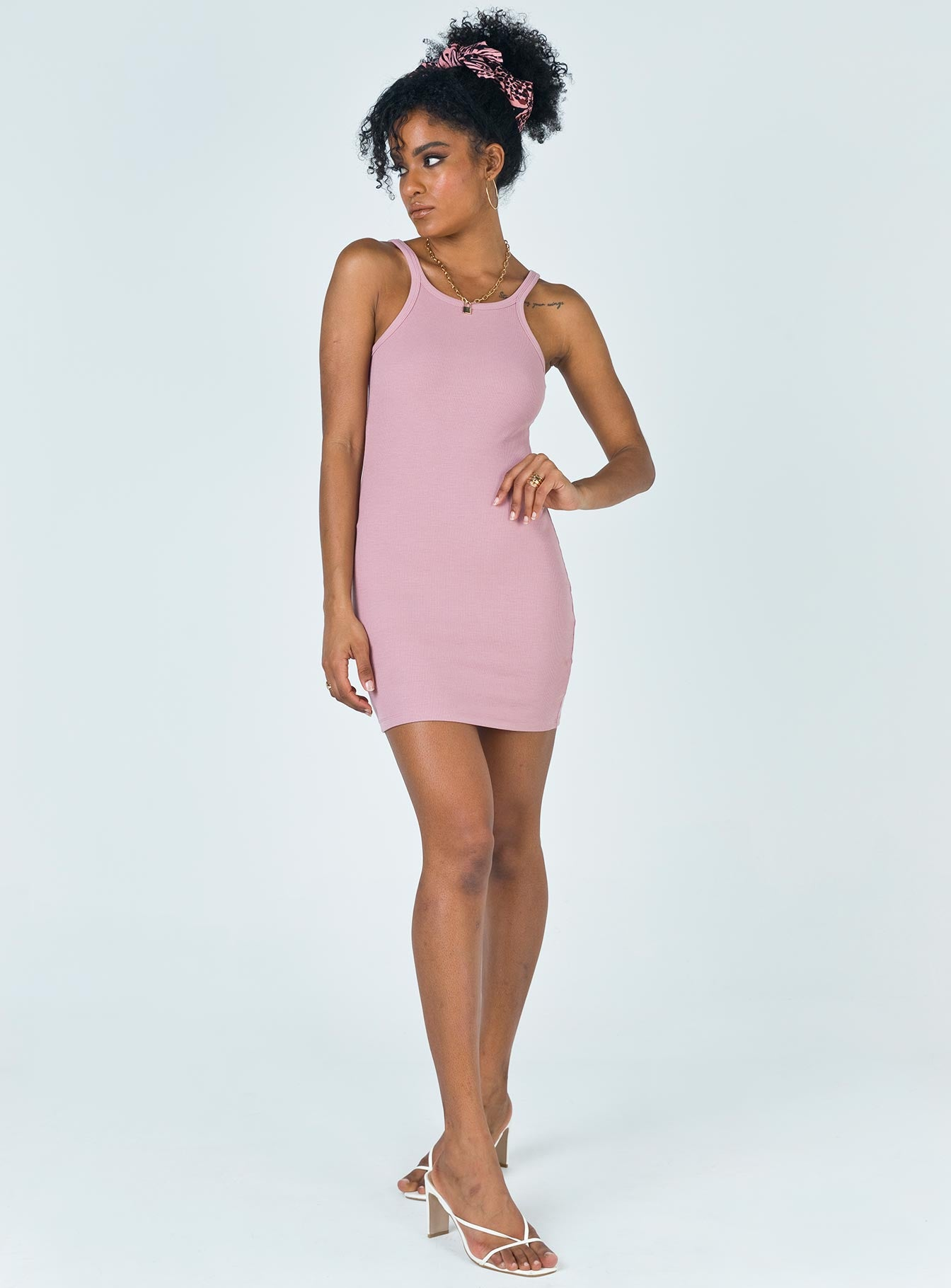 Kiera Mini Dress Pink