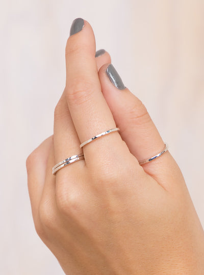 Free Ride Stack Rings