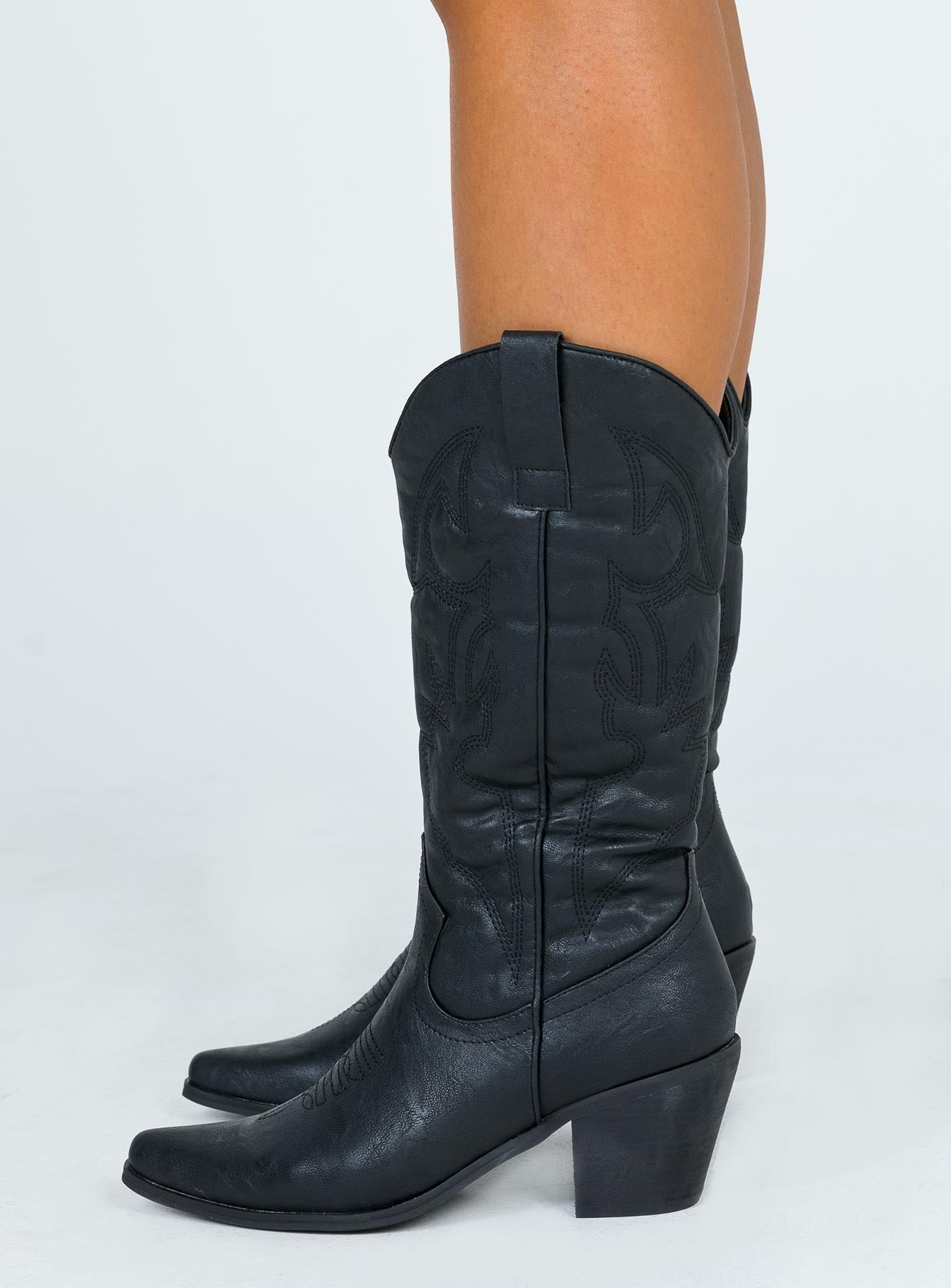 Therapy Clayton Black Boots