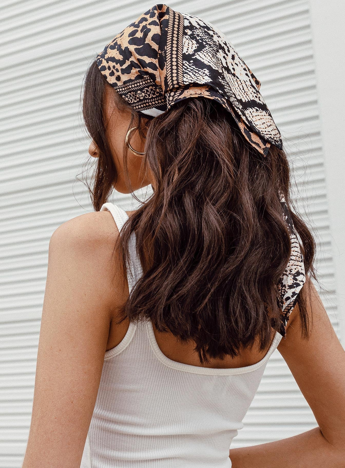 The Baroda Hair Scarf