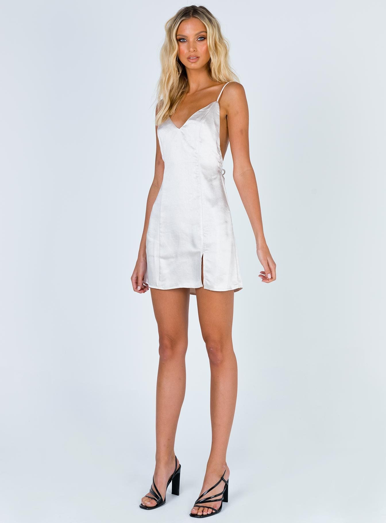 Kallen Mini Dress Champagne