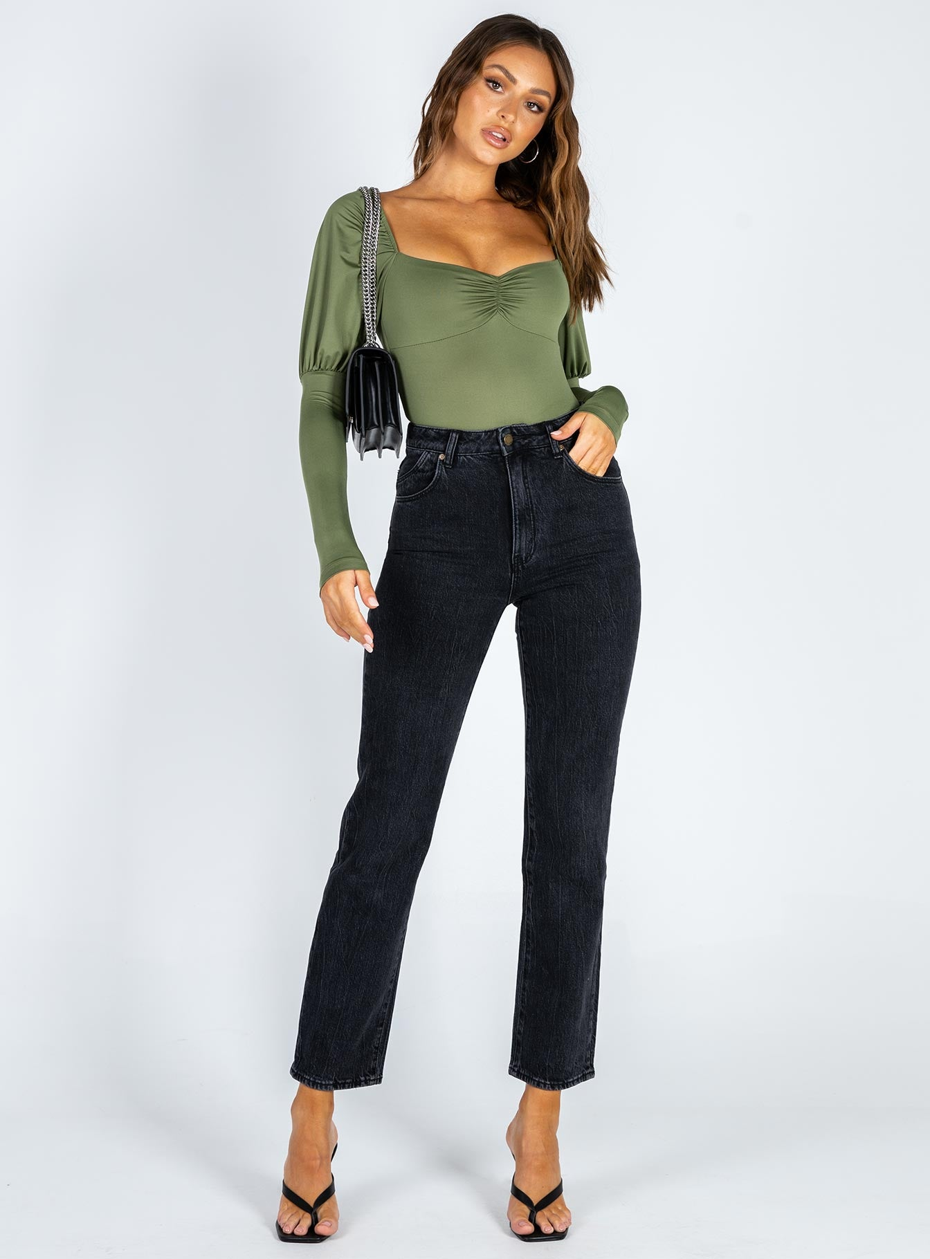 Clio Bodysuit Green