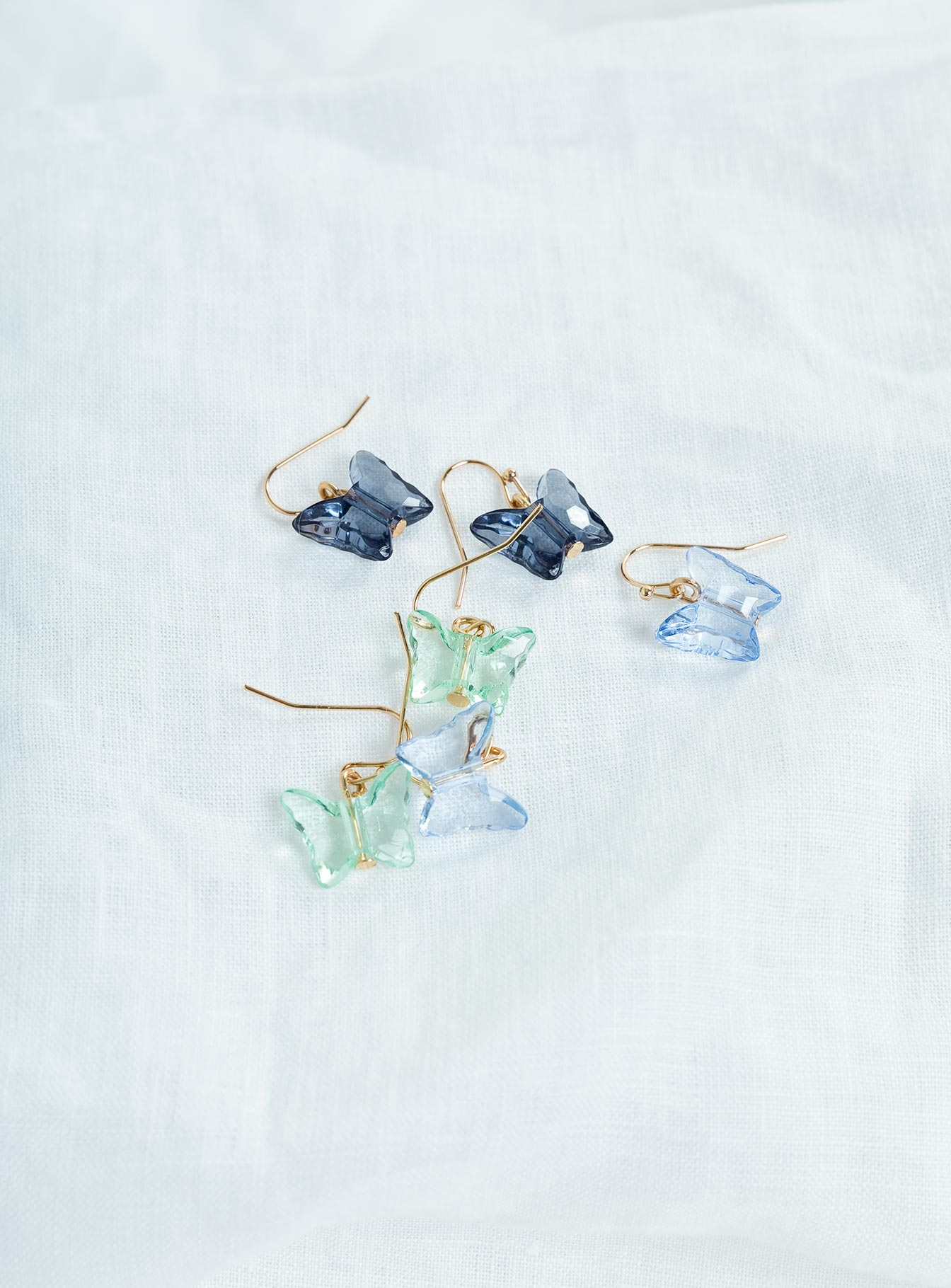 Sweet Butterflies Earring Pack Blues