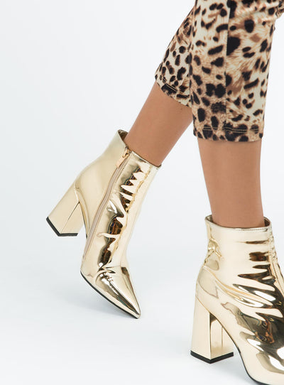 Therapy Soft  Gold Alloy Boots