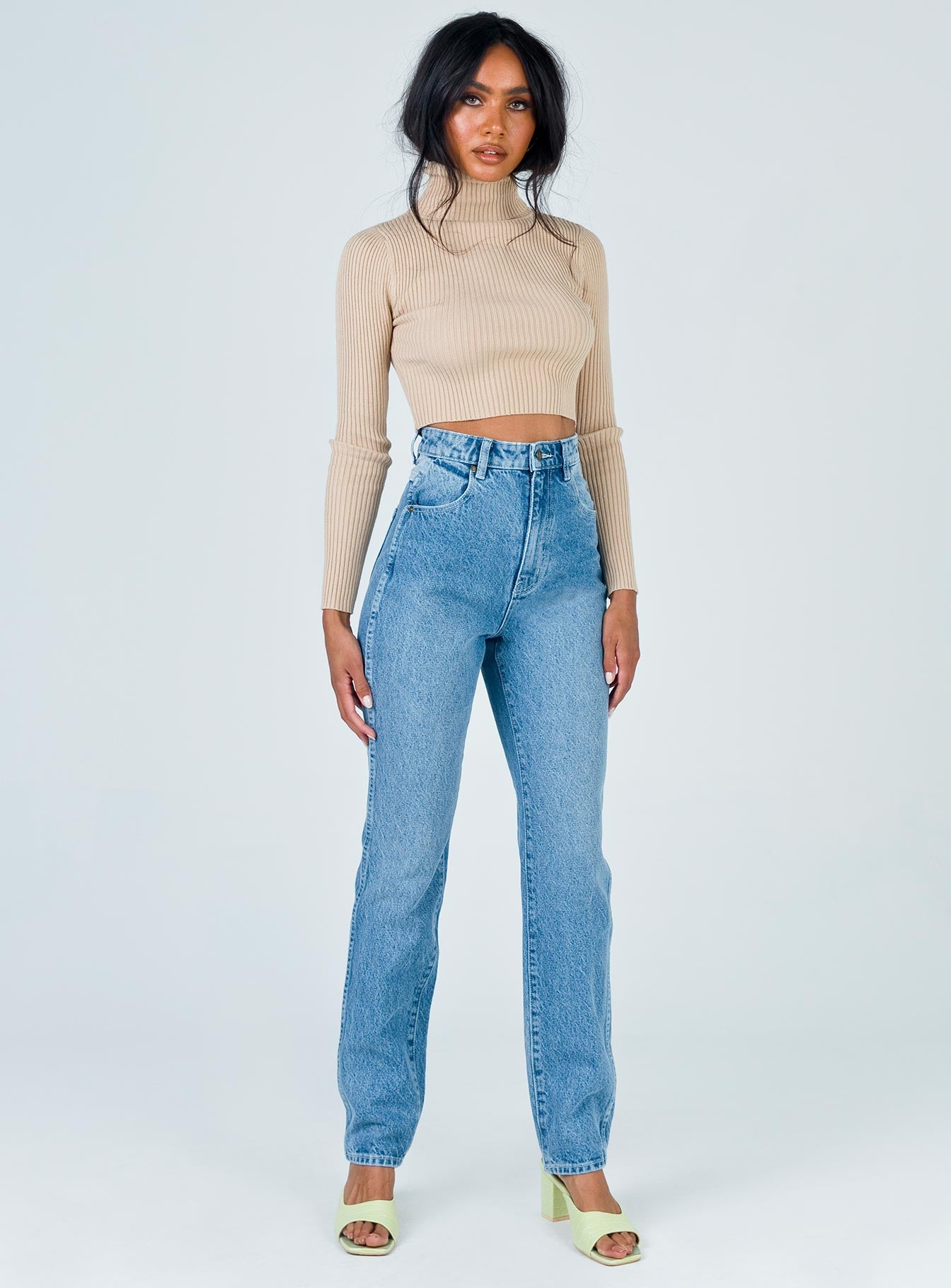 Rolla's Elle Jean Tumbled Blue