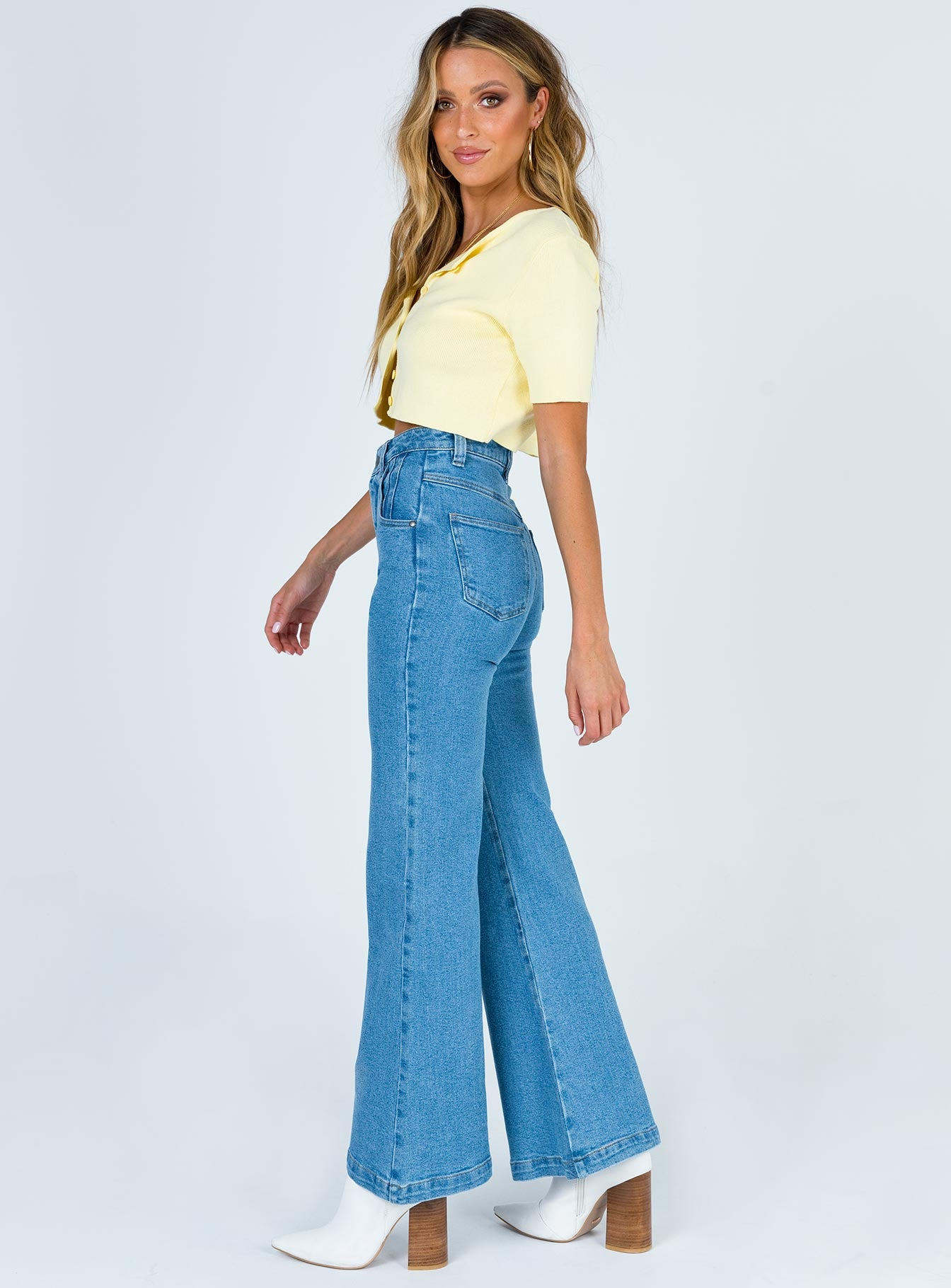 Afends Marsha Denim Flared Jeans