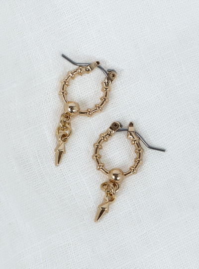 Minc Collections Petite Hoops Gold