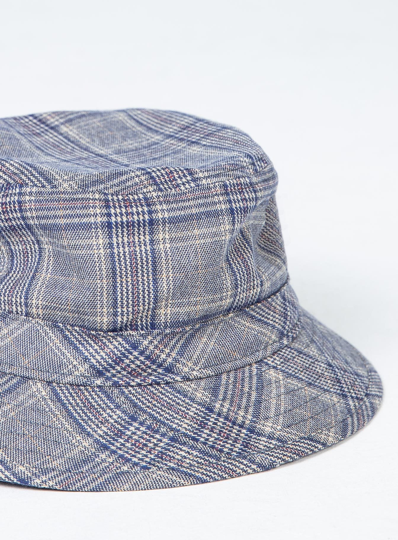 Brixton B Shield Bucket Hat Casa Blanca Blue
