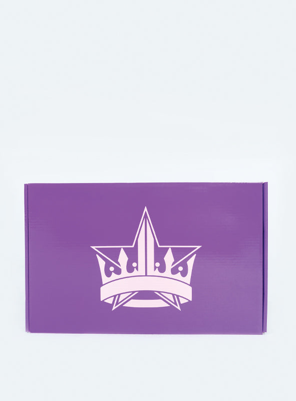 Jeffree Star Cosmetics Hand Mirror Purple Glitter