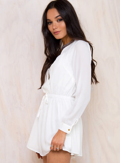 Baby's Breath Long Sleeve Playsuit