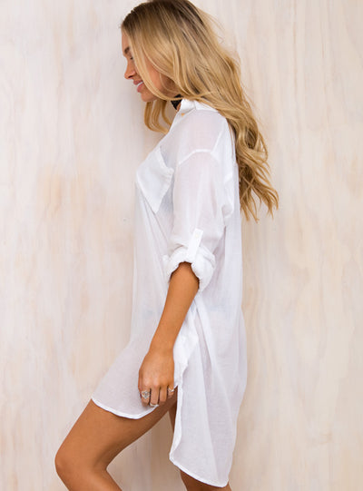 Ship to Shore T-Shirt Dress