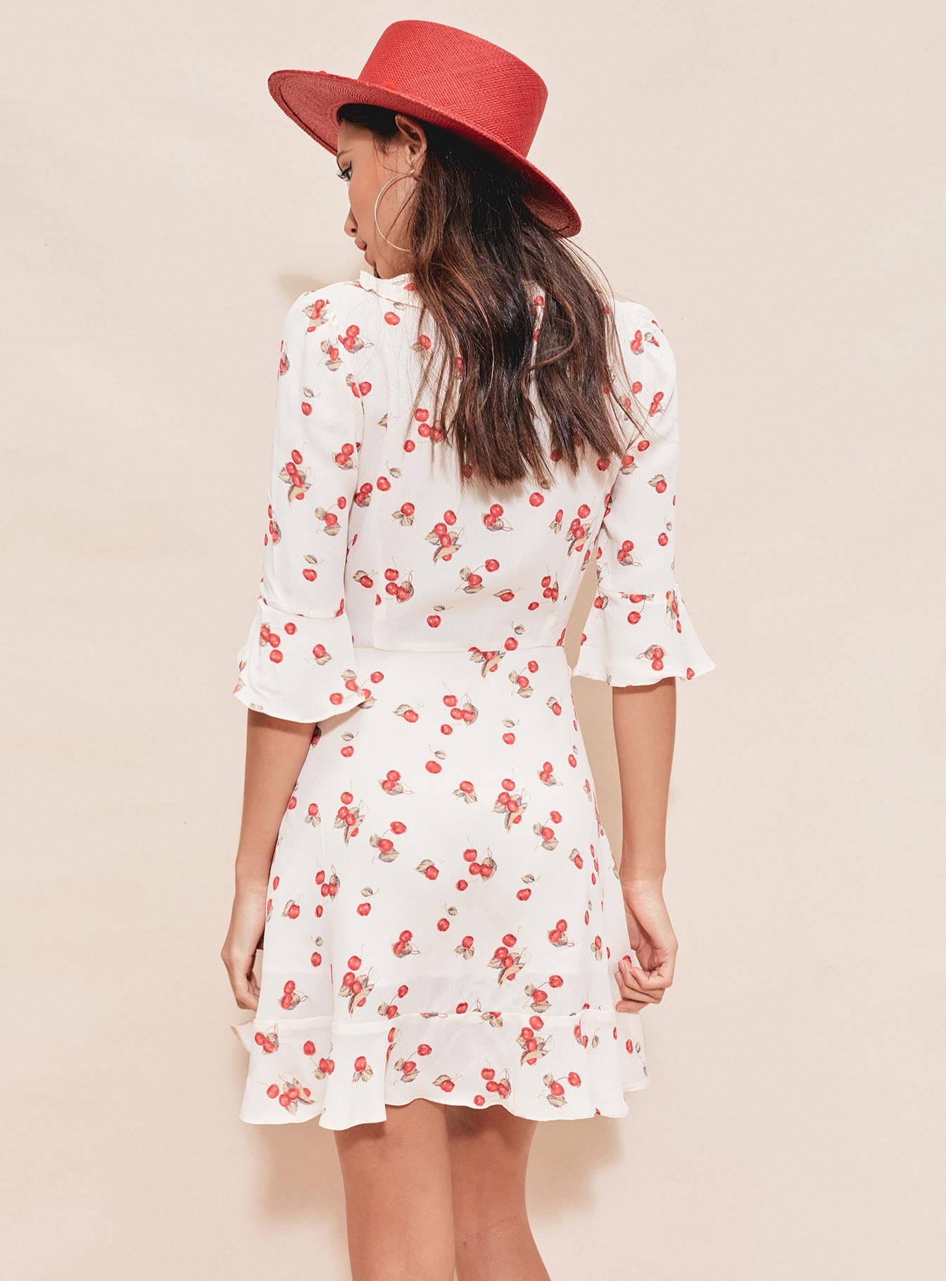 For Love & Lemons Cherry Sundress