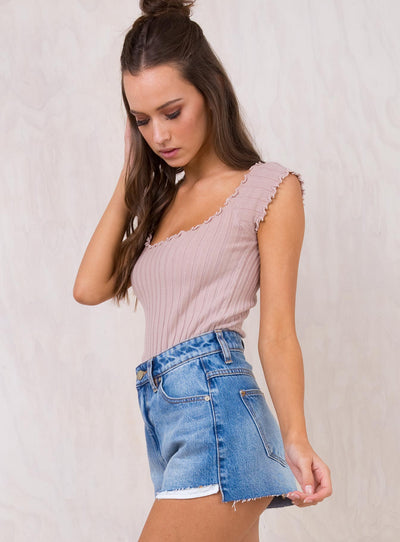 Abrand Walk Away High Relaxed Shorts