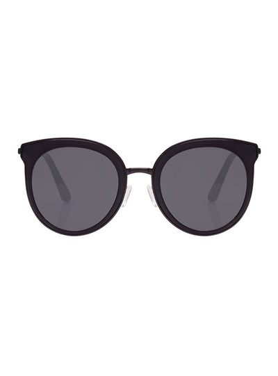 Minkpink Sugar Coated Sunglasses Black Rubber Smoke Mono