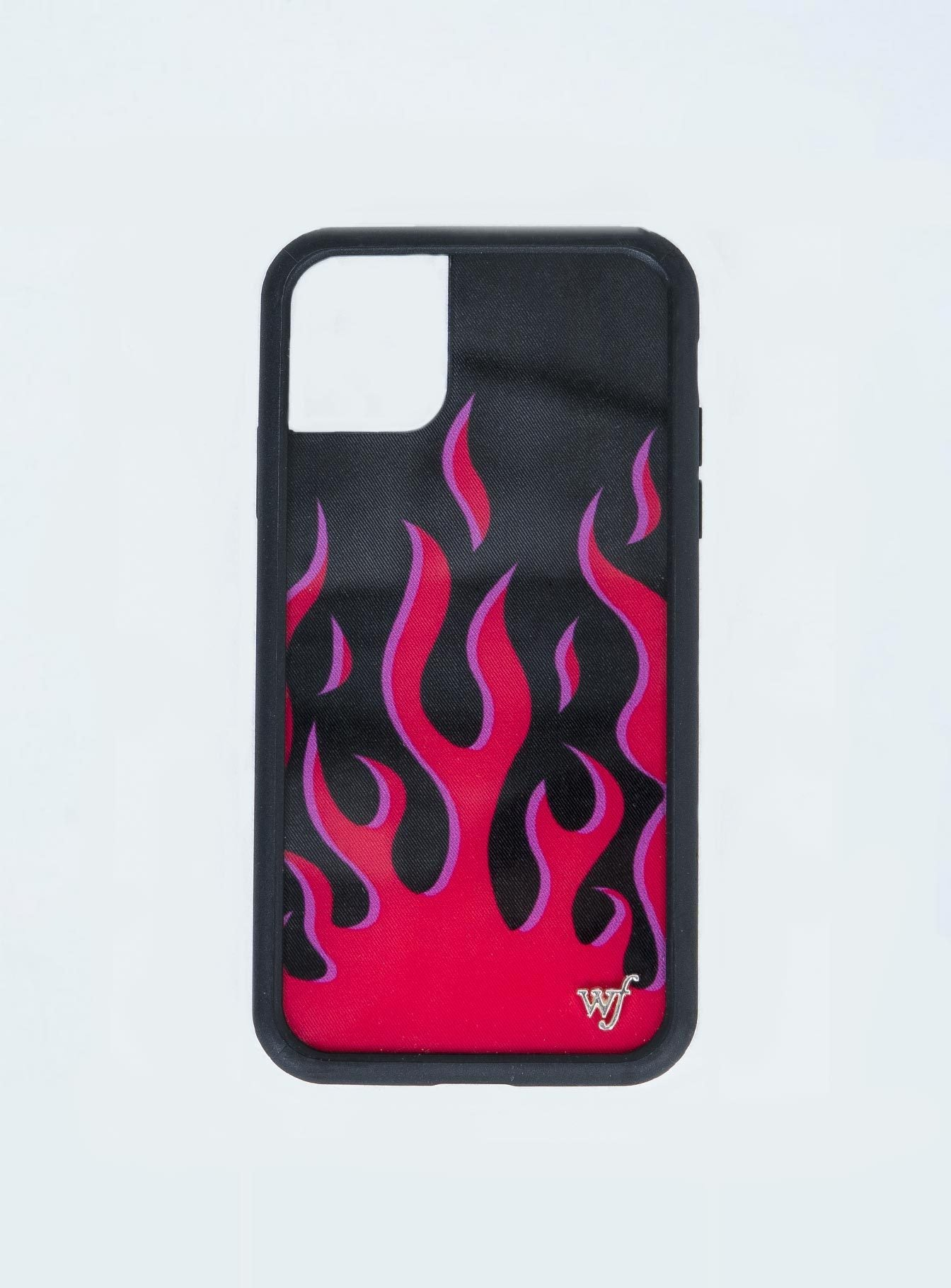Wildflower Red Flames iPhone 11 Case