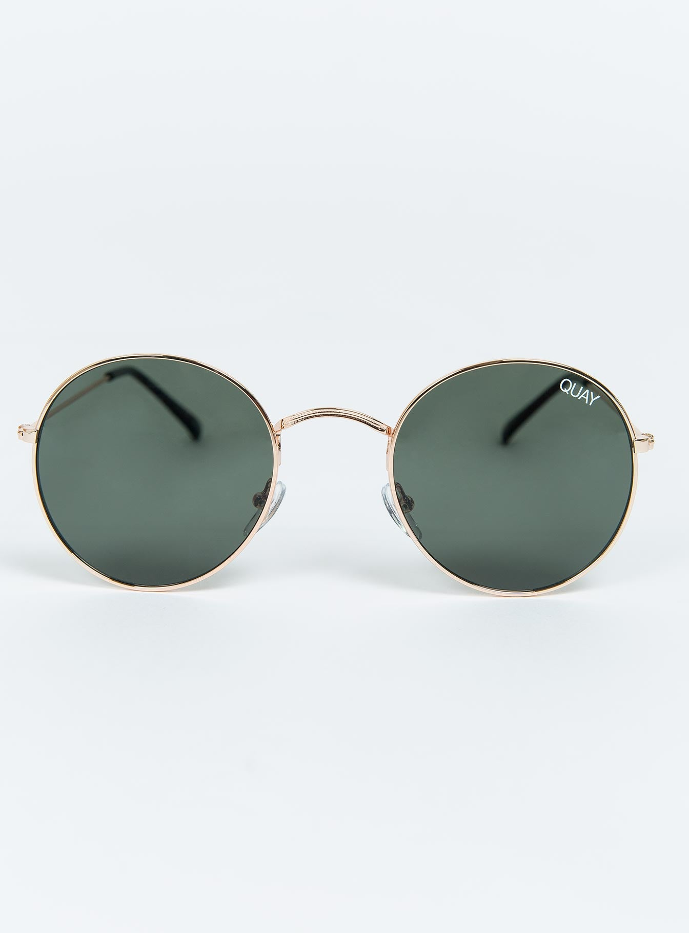 Quay Green Mod Star Sunglasses
