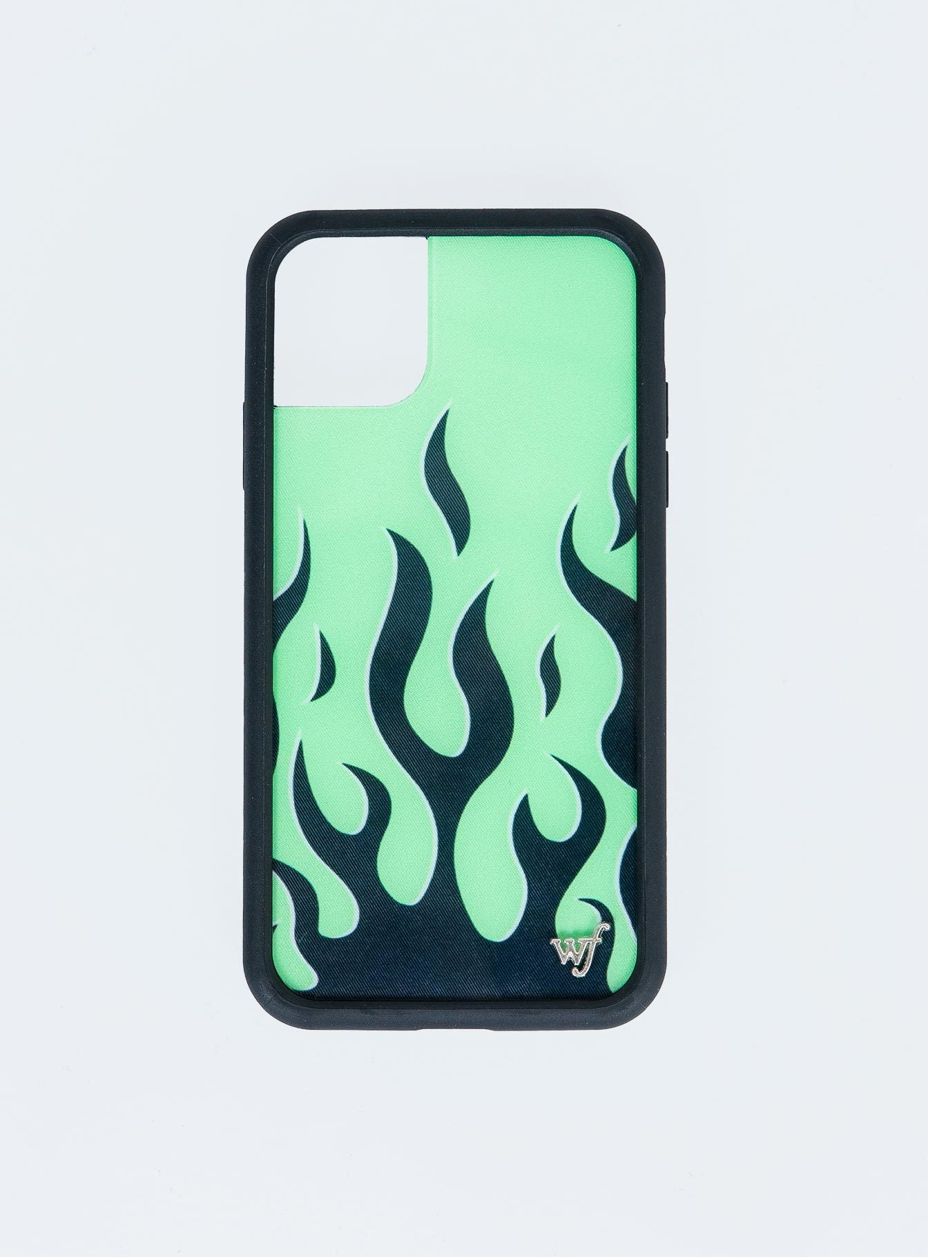 Wildflower Neon Flames iPhone 11 Case