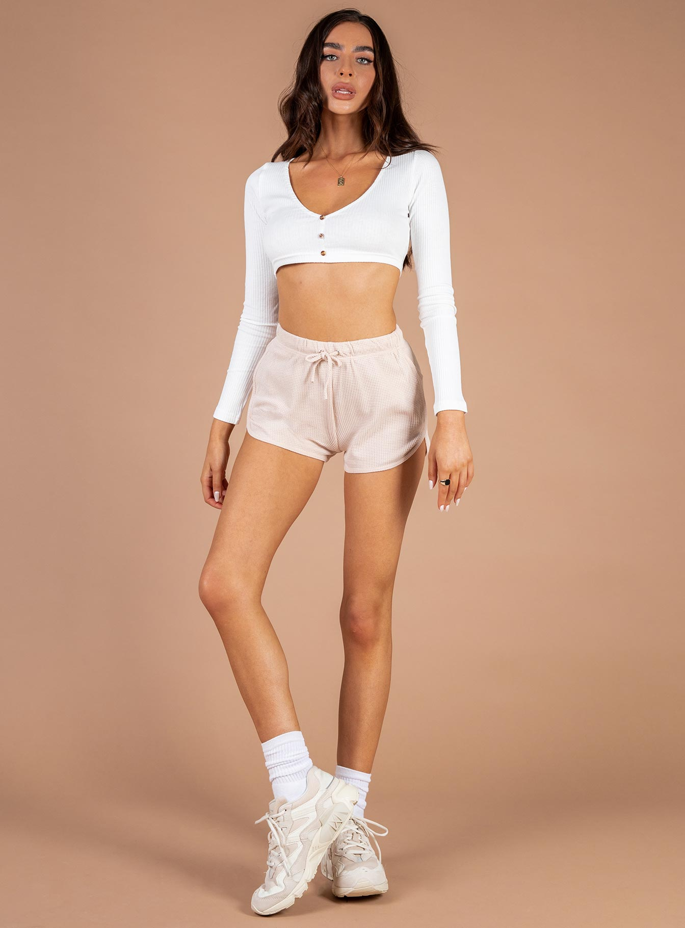 Dream Daze Shorts Beige