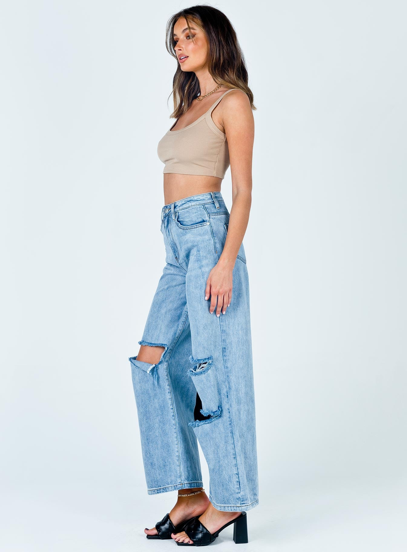 TWIIN Served Wide Leg Jeans