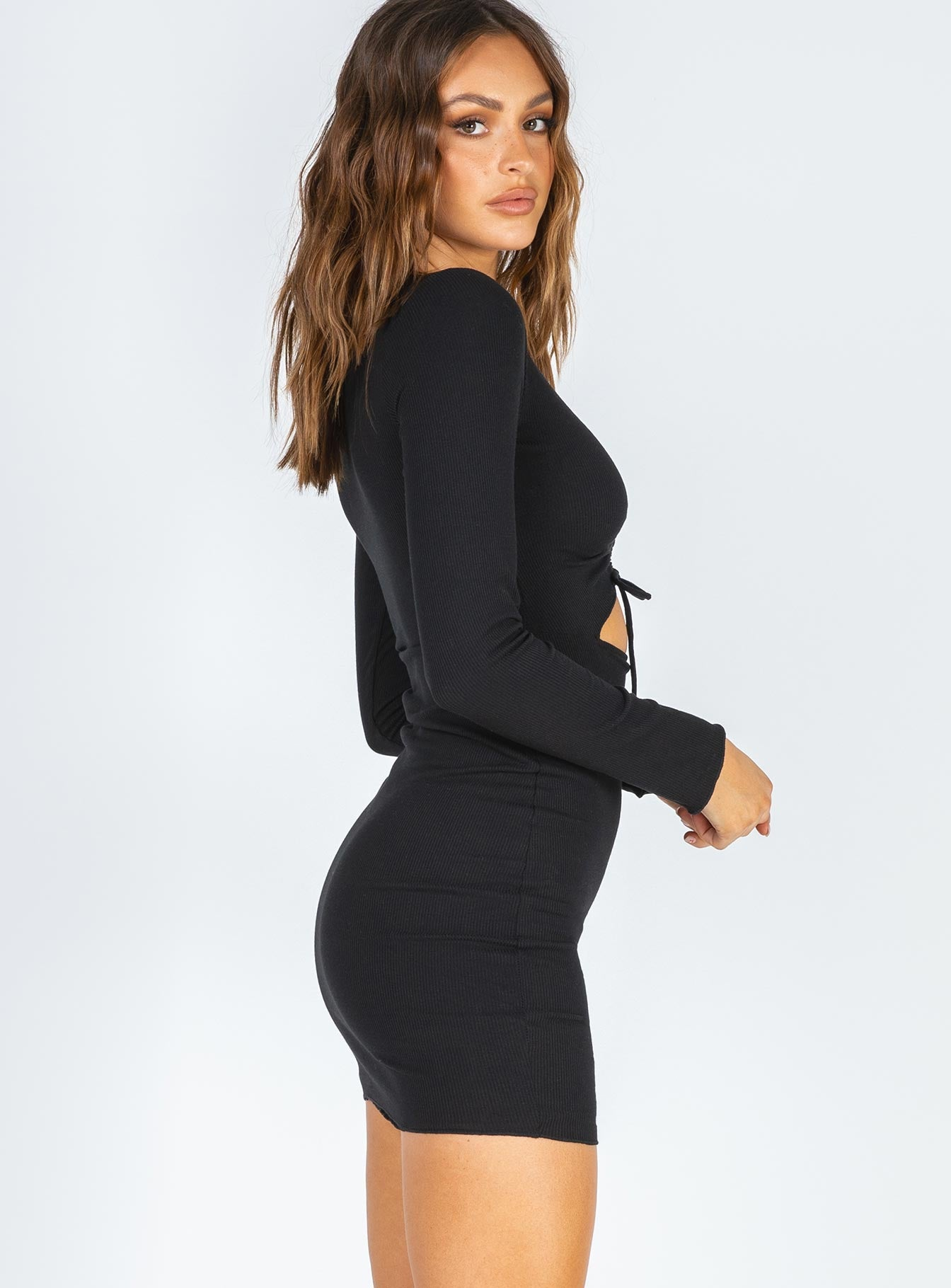 Pinch Me Mini Dress Black