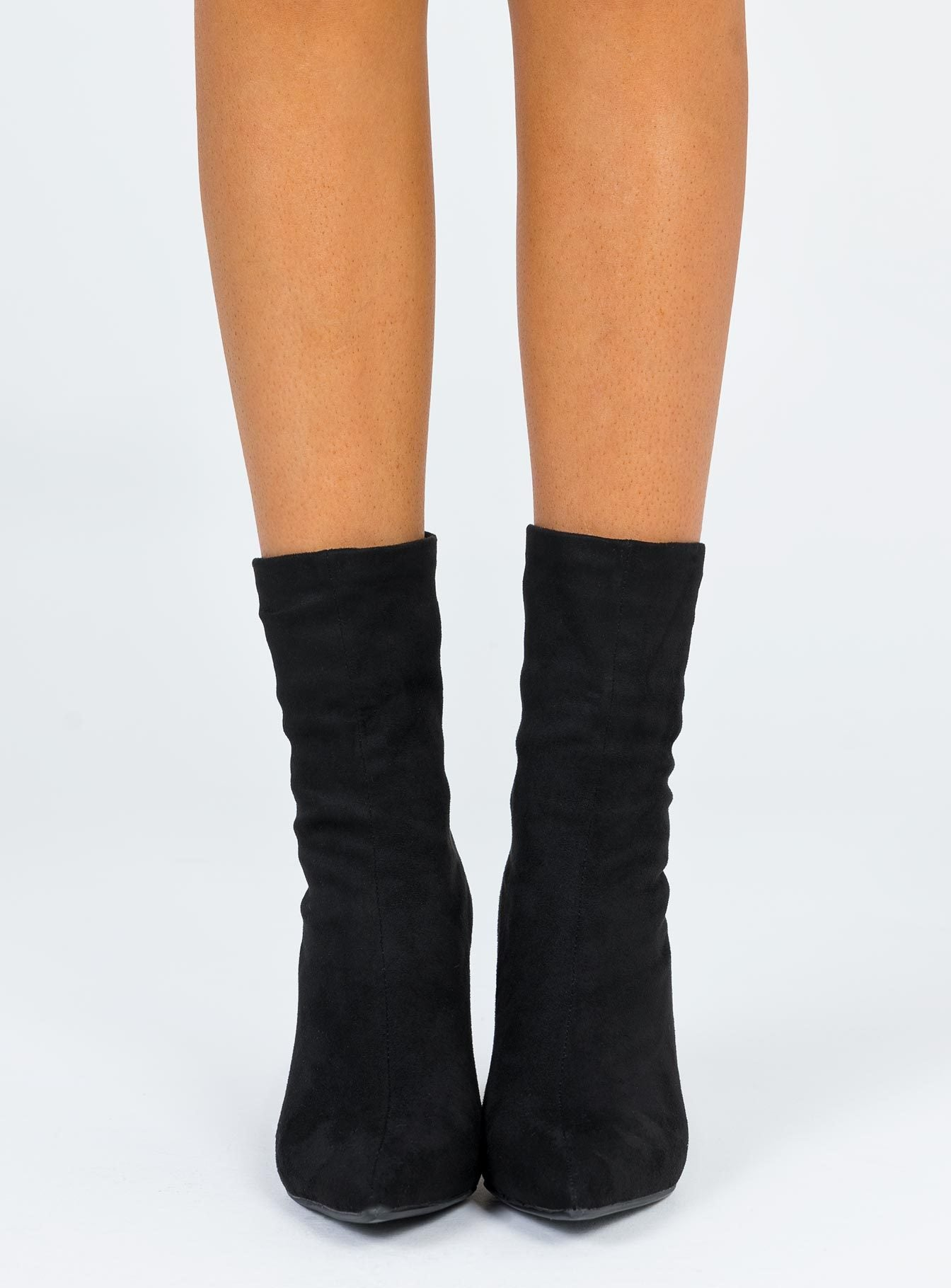 Therapy Bowie Boots Faux Suede