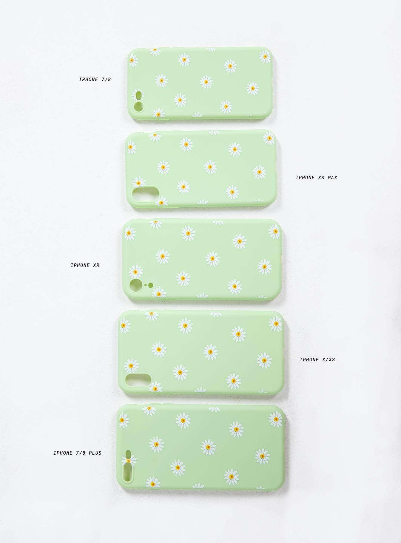 Daisy Baby iPhone Case Green