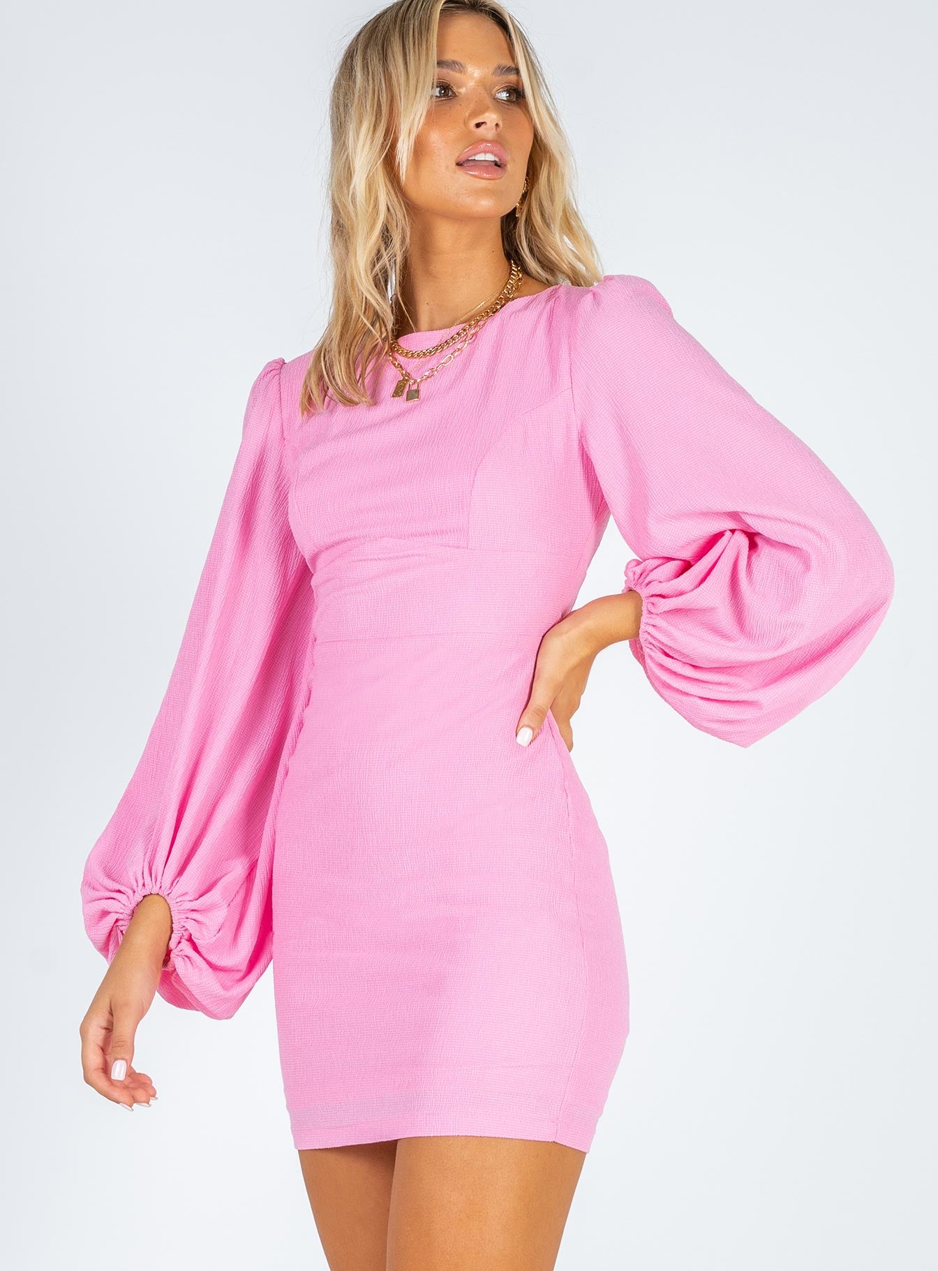 Tana Mini Dress Pink