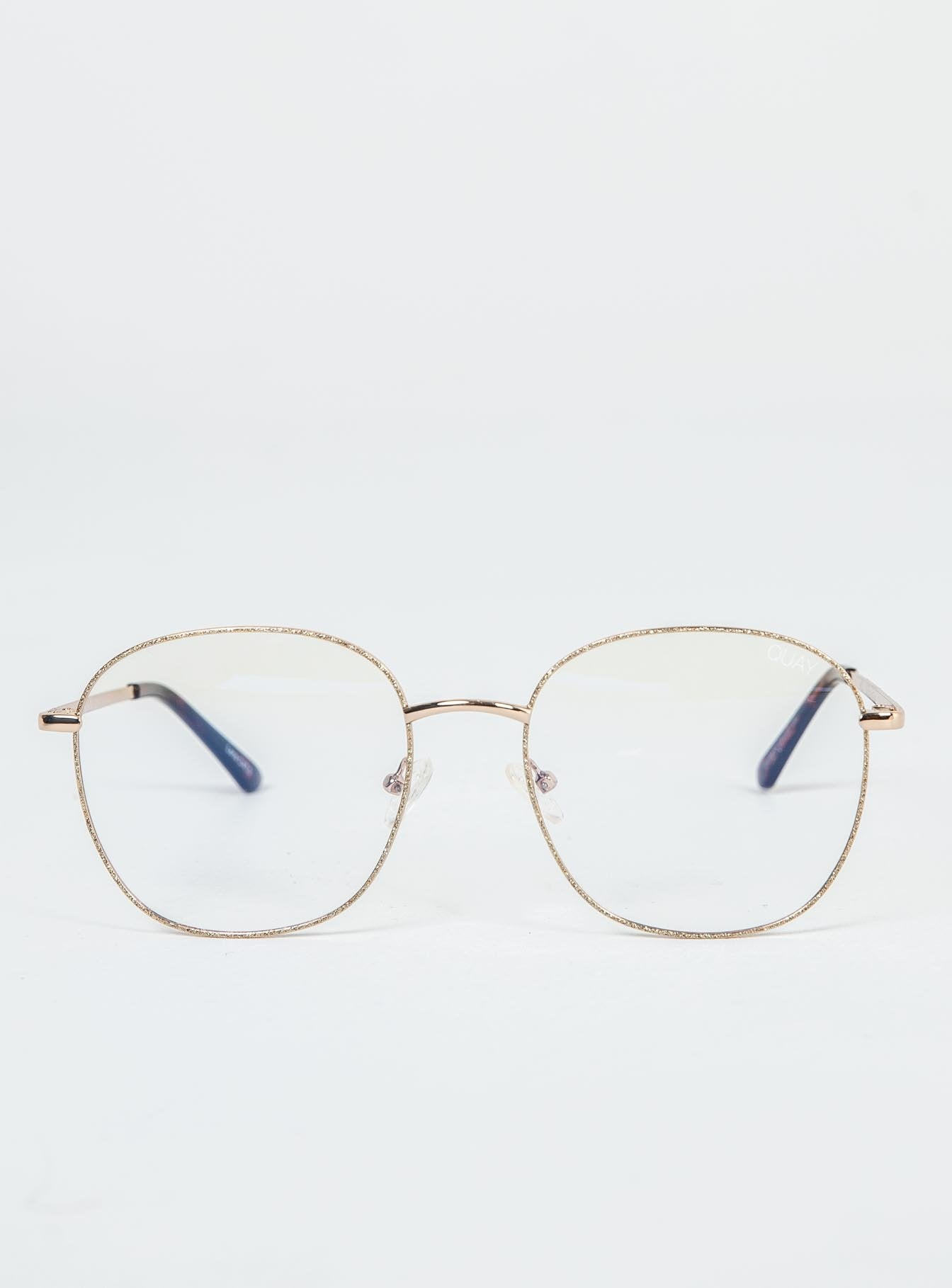 Quay Australia Jezabell Glitter Blue Light Glasses