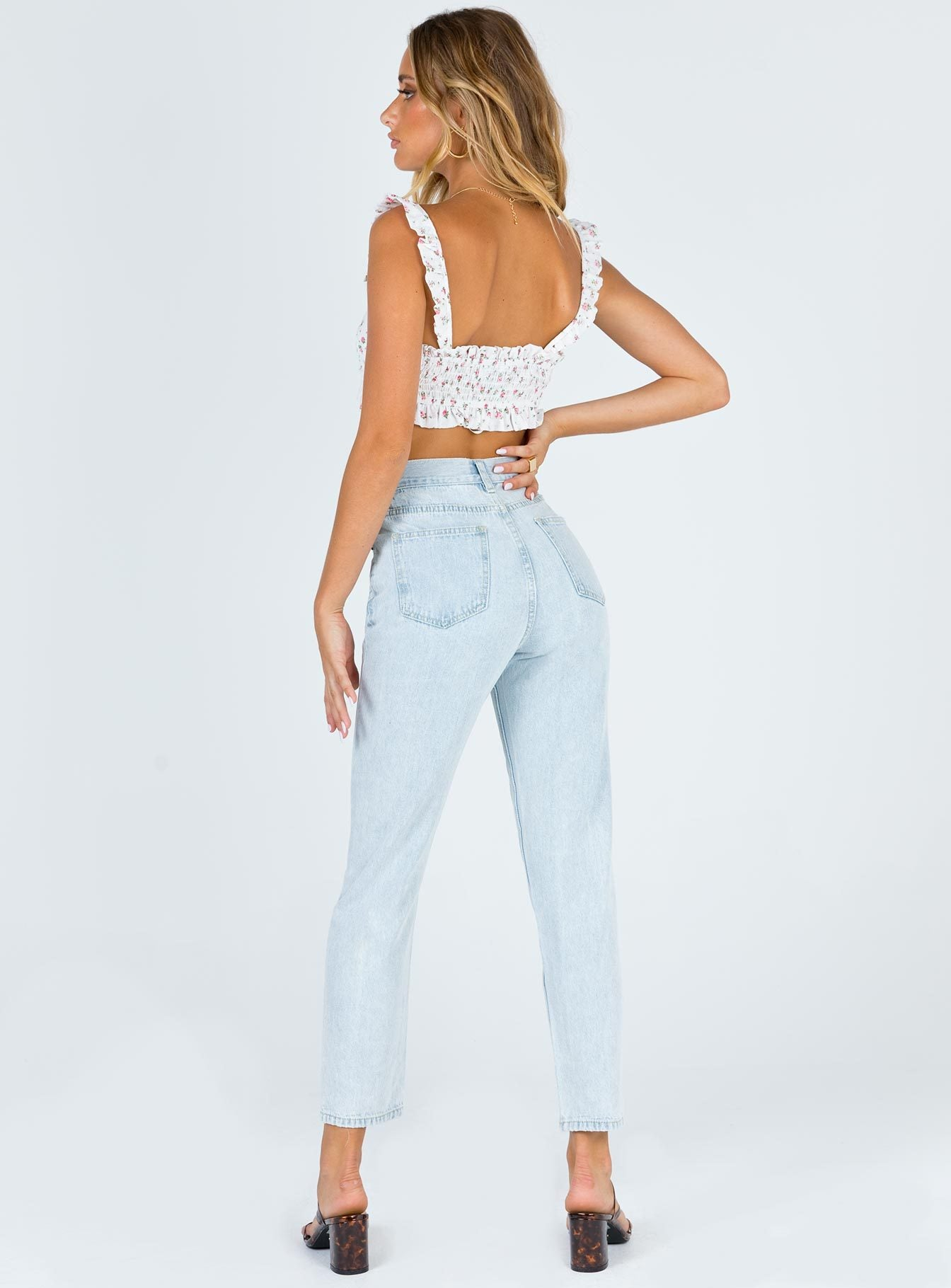 Lillian Straight Jeans Denim