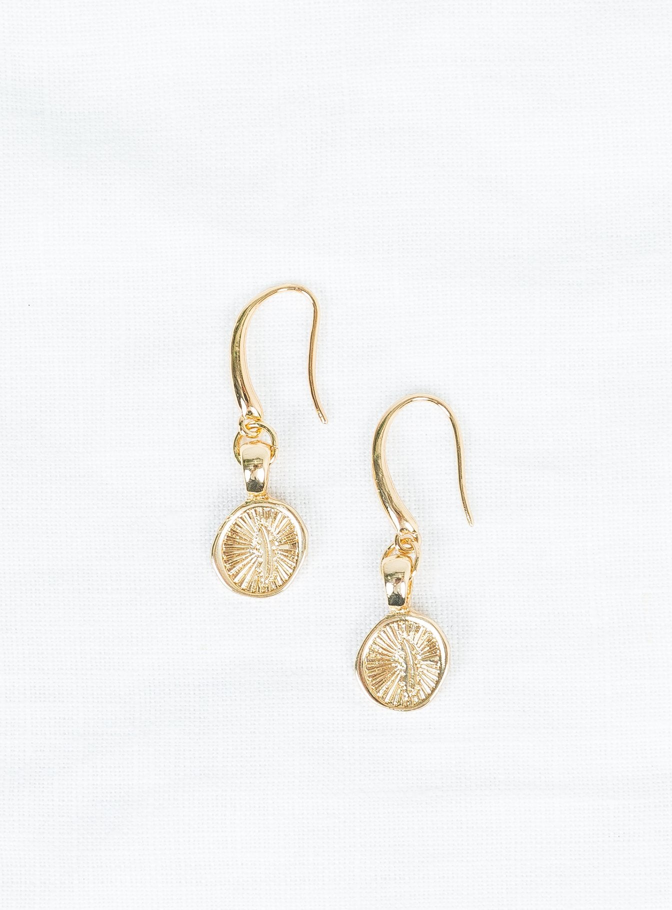 Minc Collections Feather Hook Earring