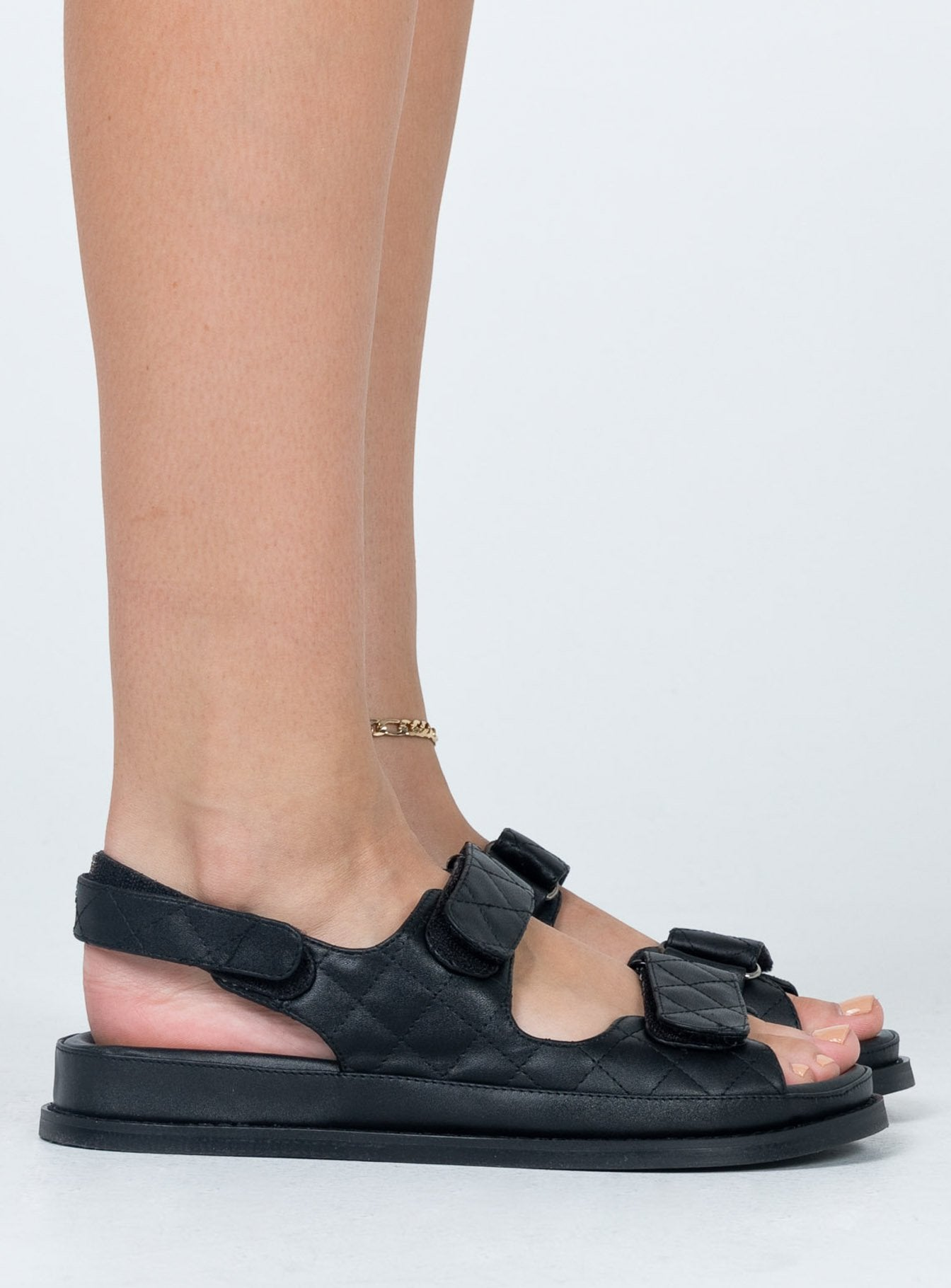 Wake Up Love Sandals Black