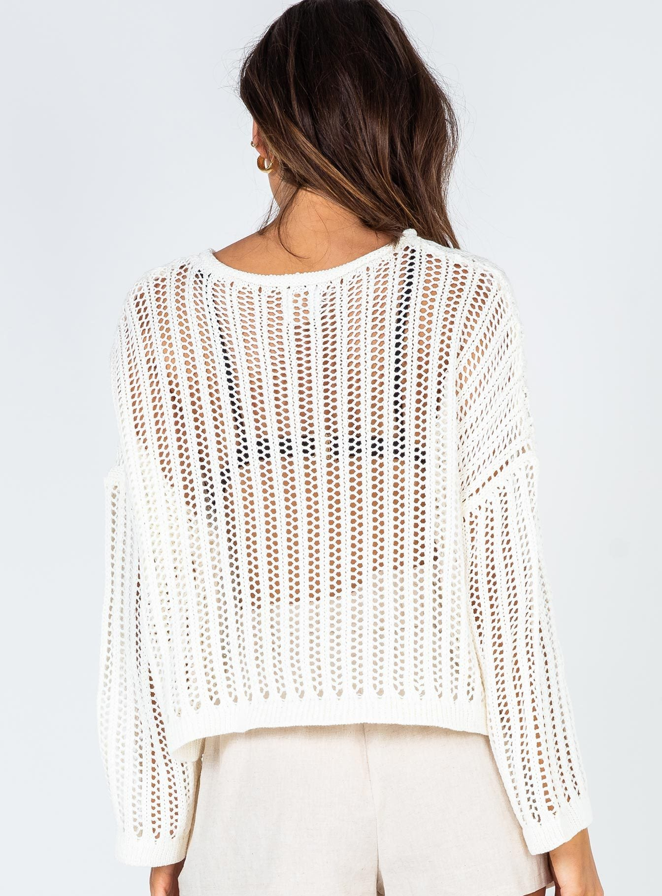Shylah Jumper White