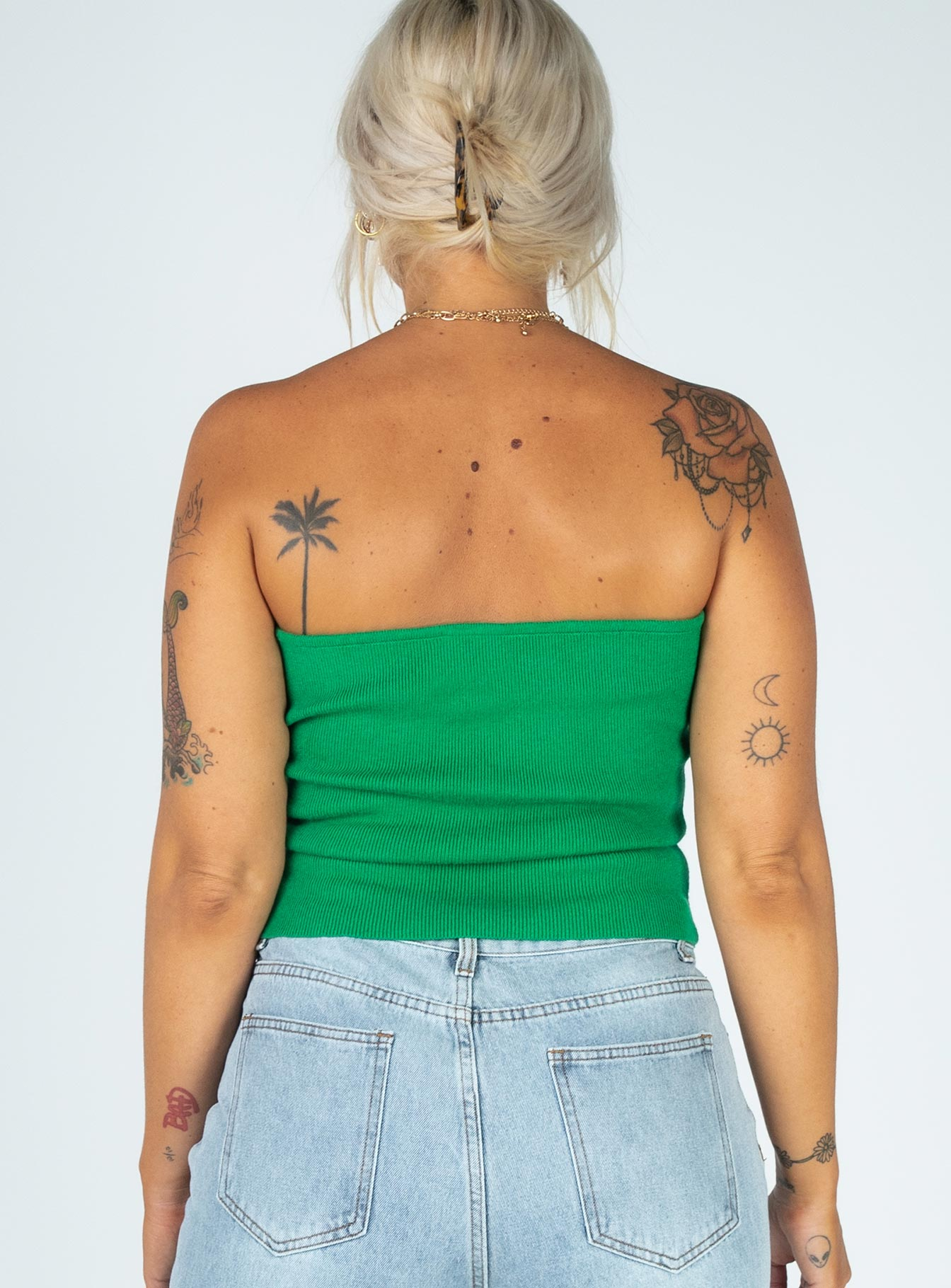 Francesca Top Green