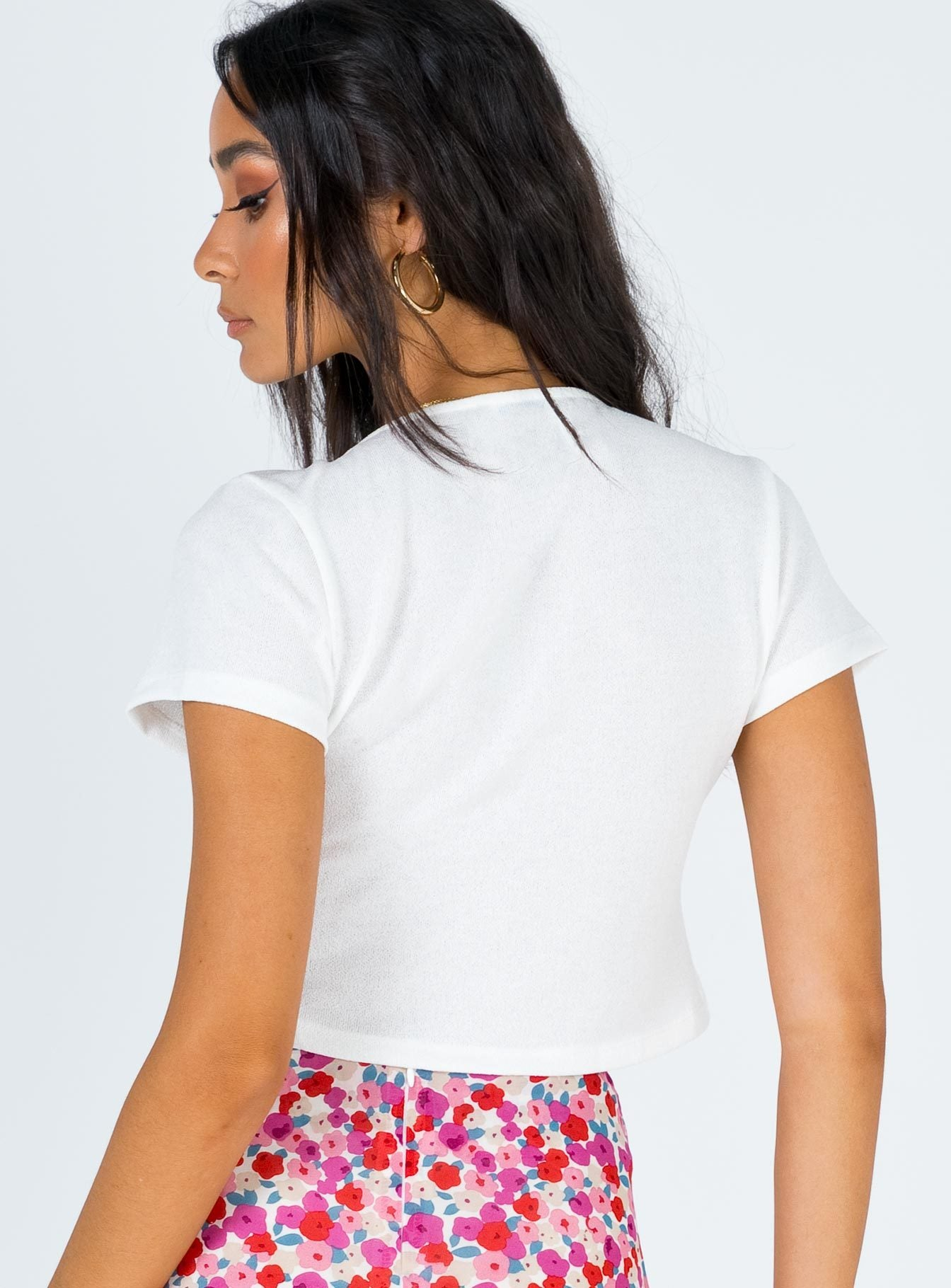 Reedman Top White