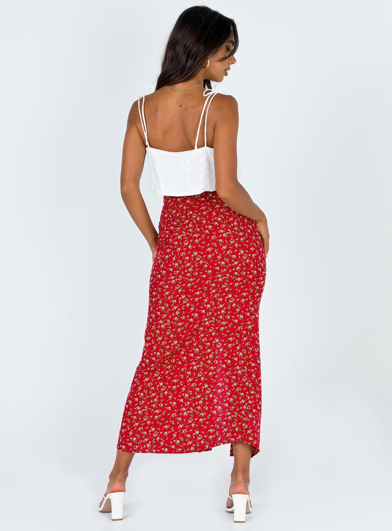 Motel Rima Midi Skirt