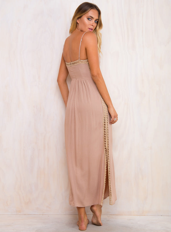 Zen Rose Maxi Dress