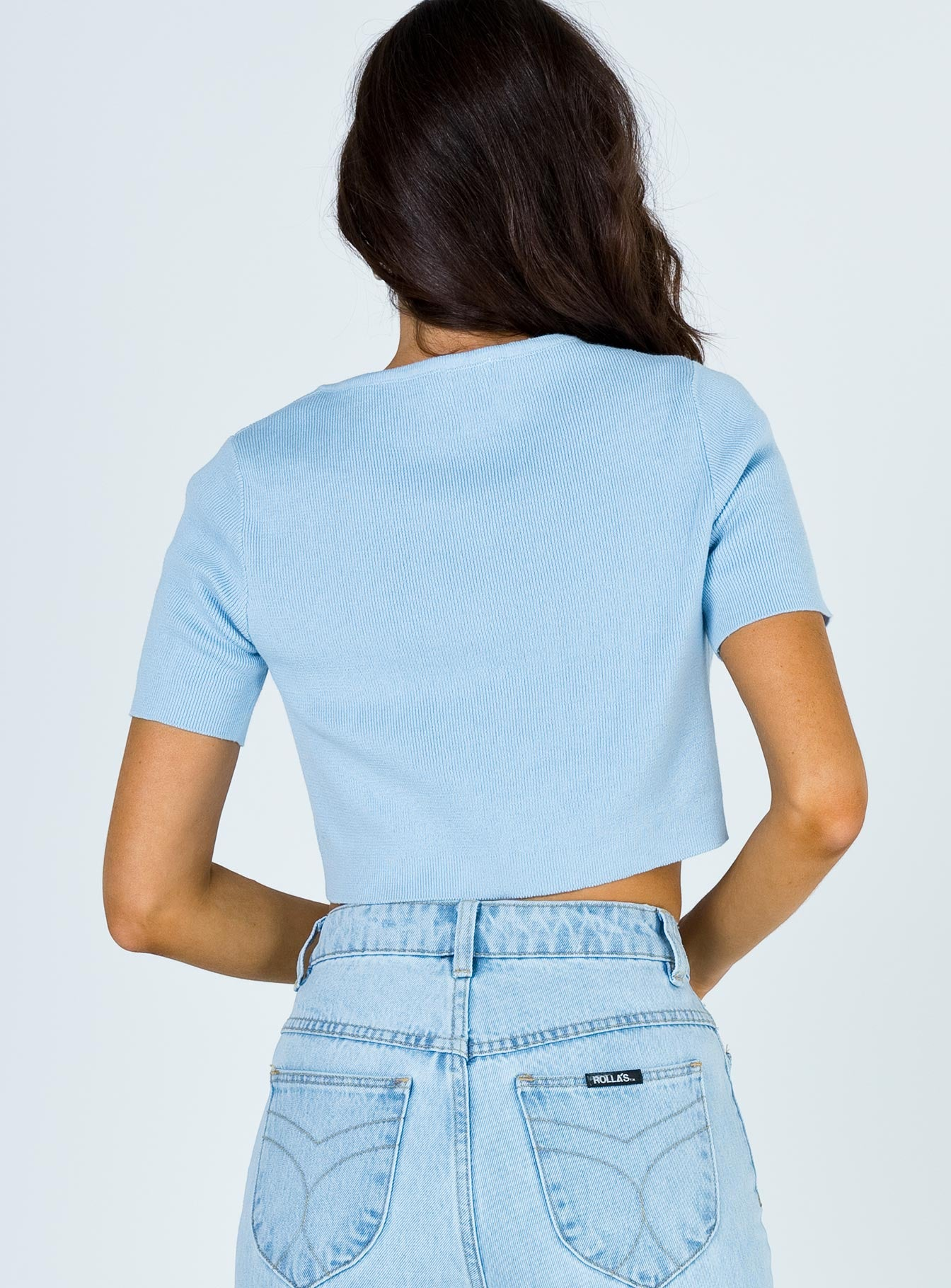 The Jayden Top Blue