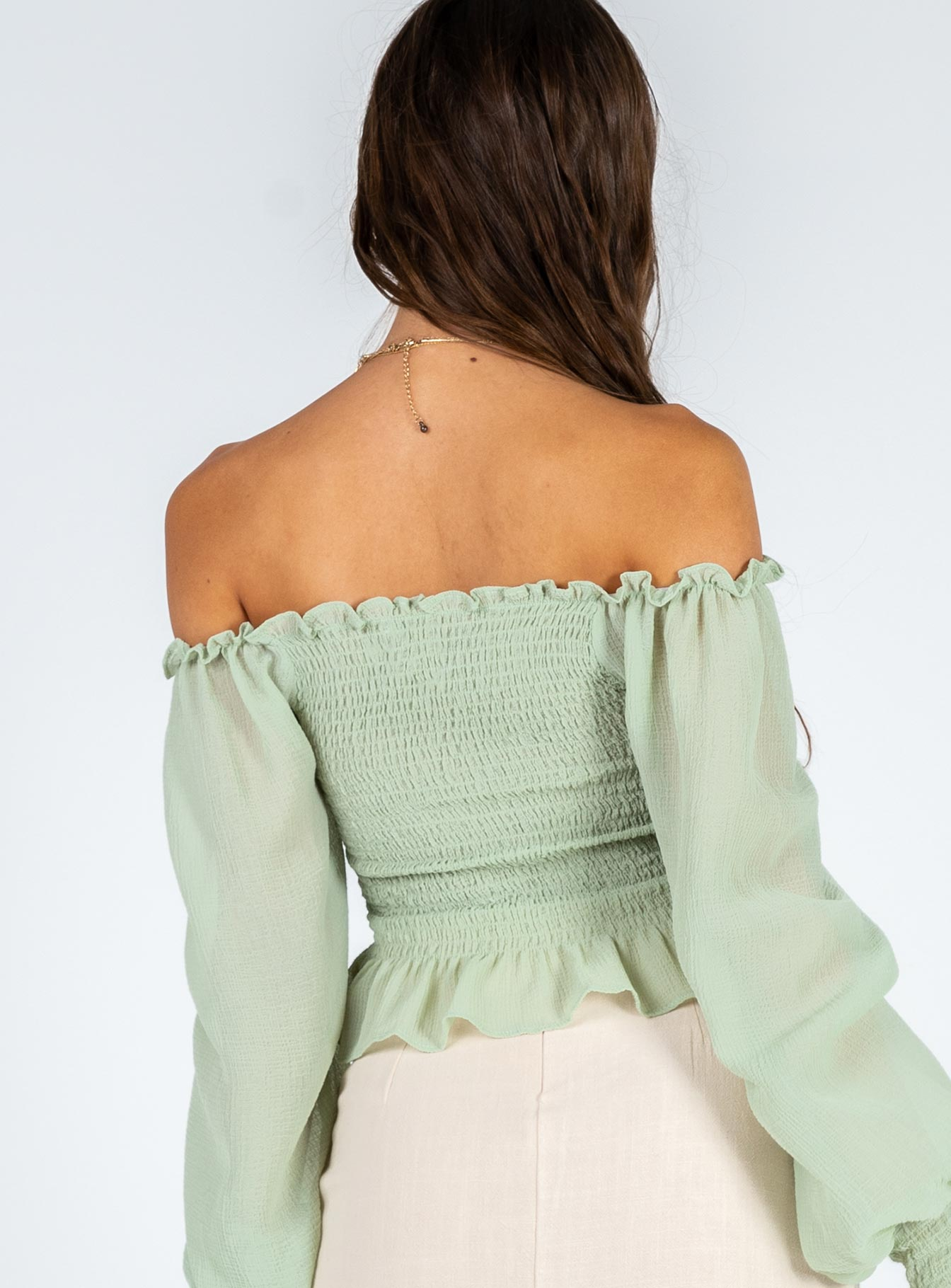 Roxy Top Green
