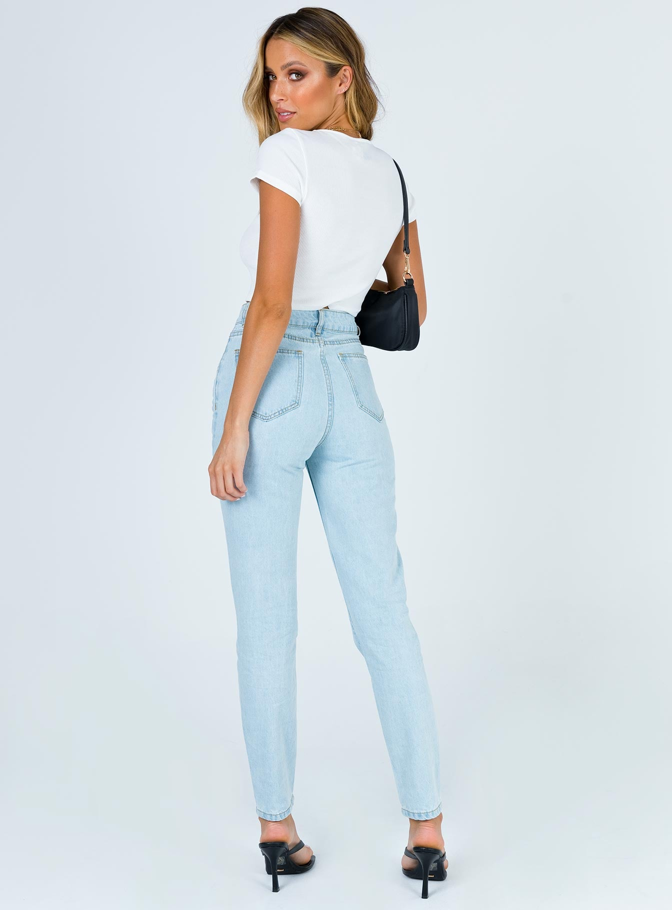Tawny Skinny Jean Light Wash Denim