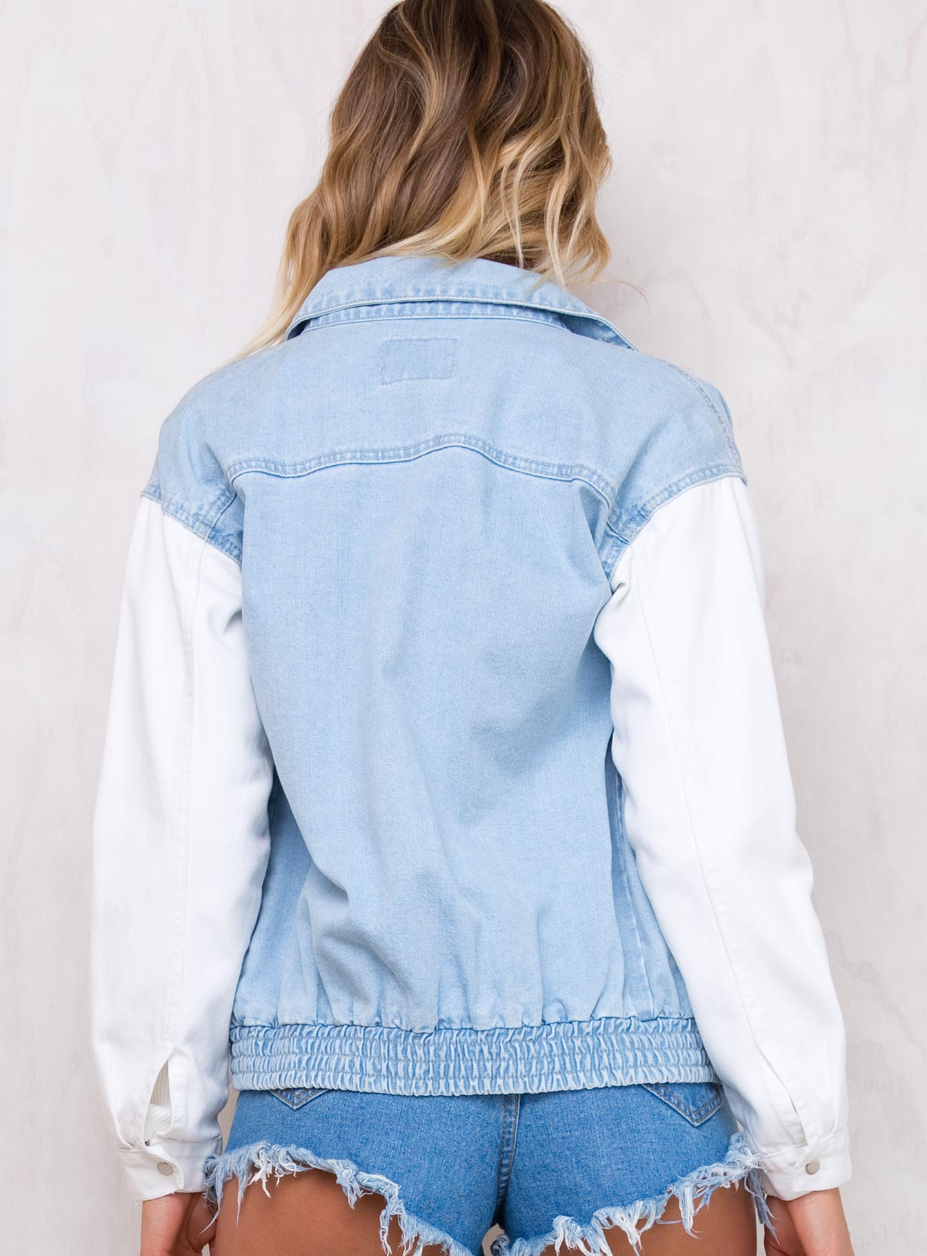 Blue/Off White