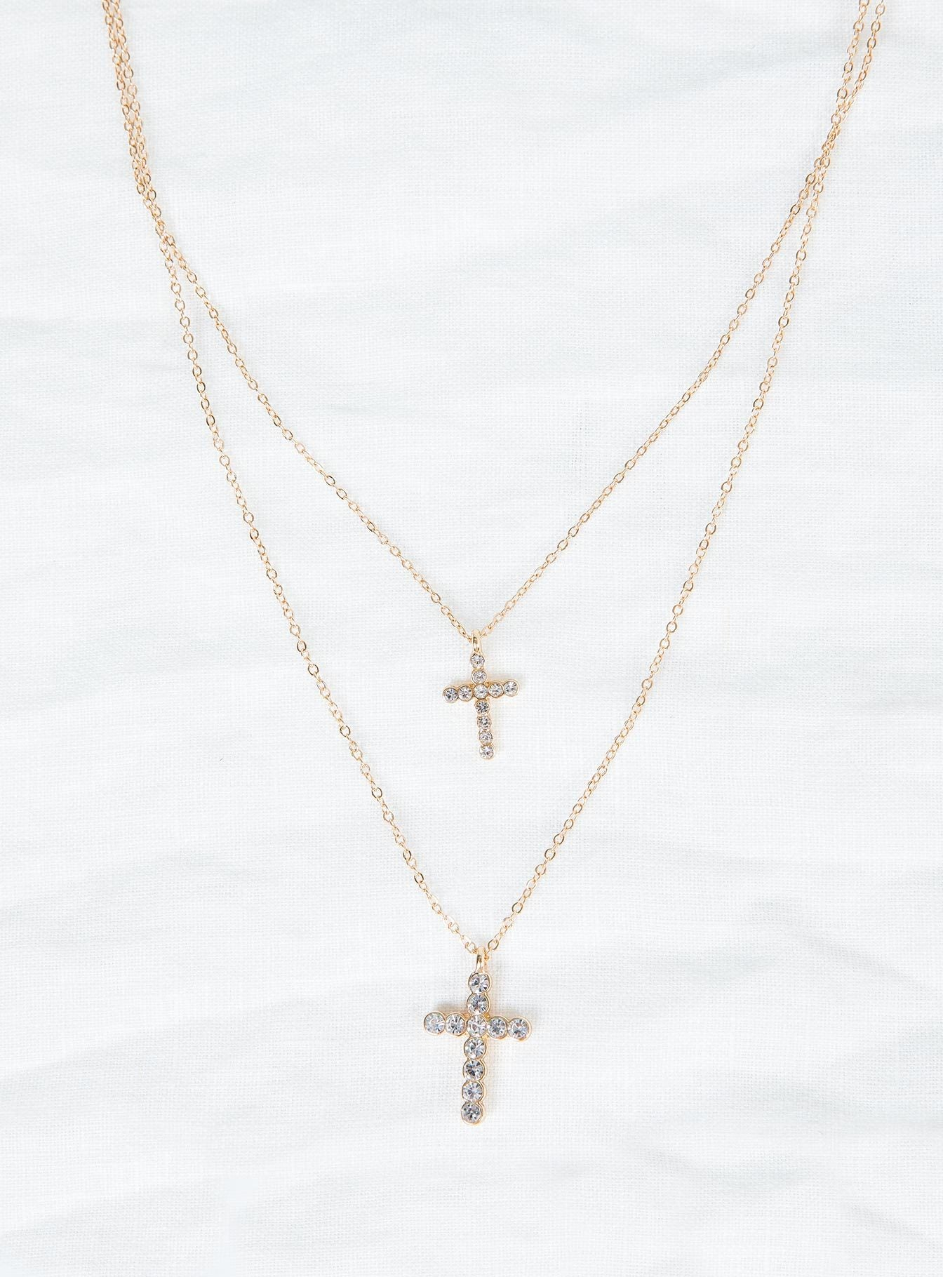 Cross Roads Necklace