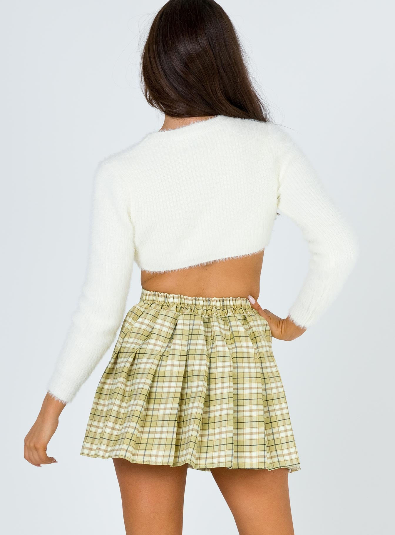 Lona Mini Skirt Green Multi