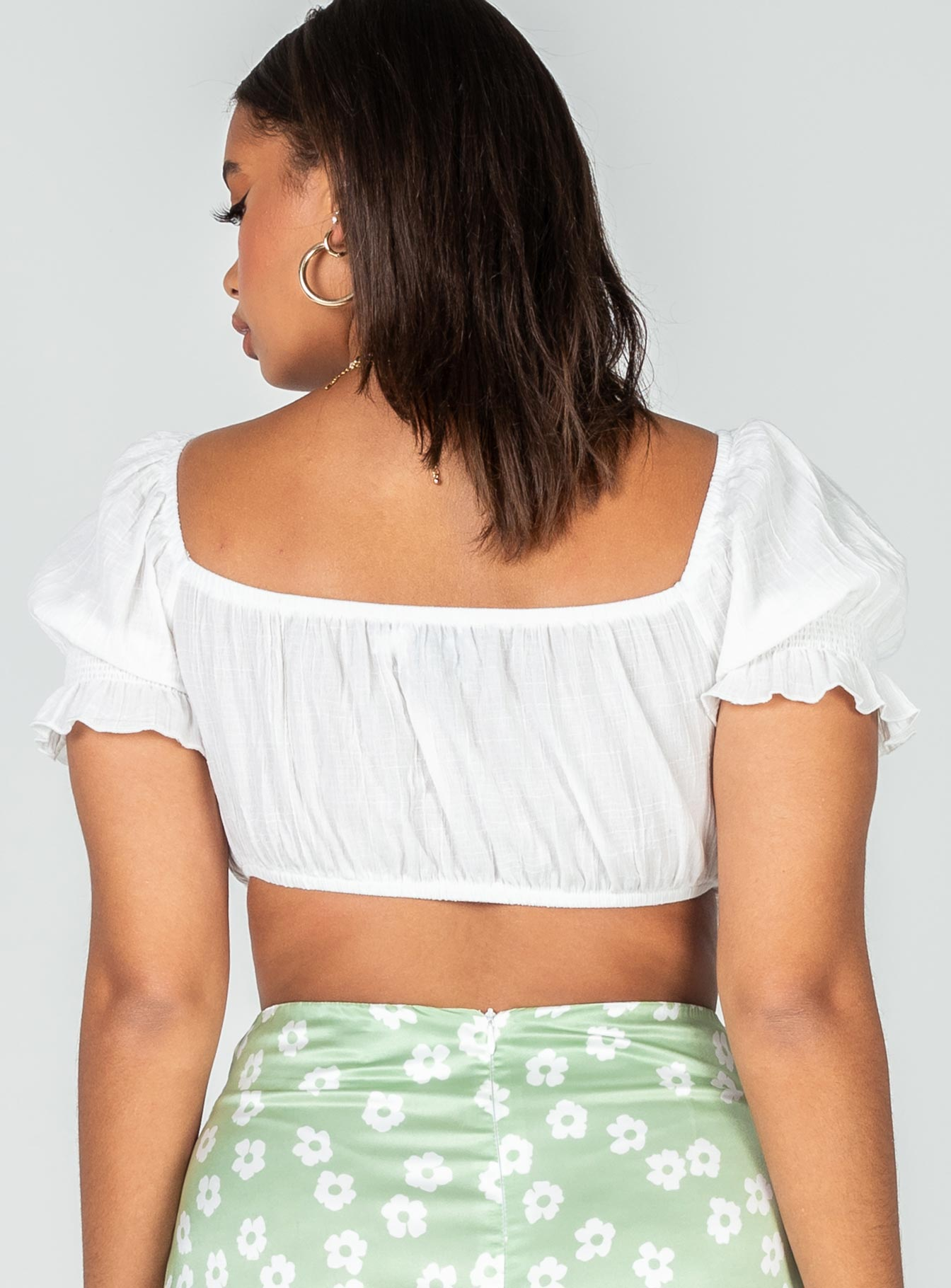 The Maisy Top White