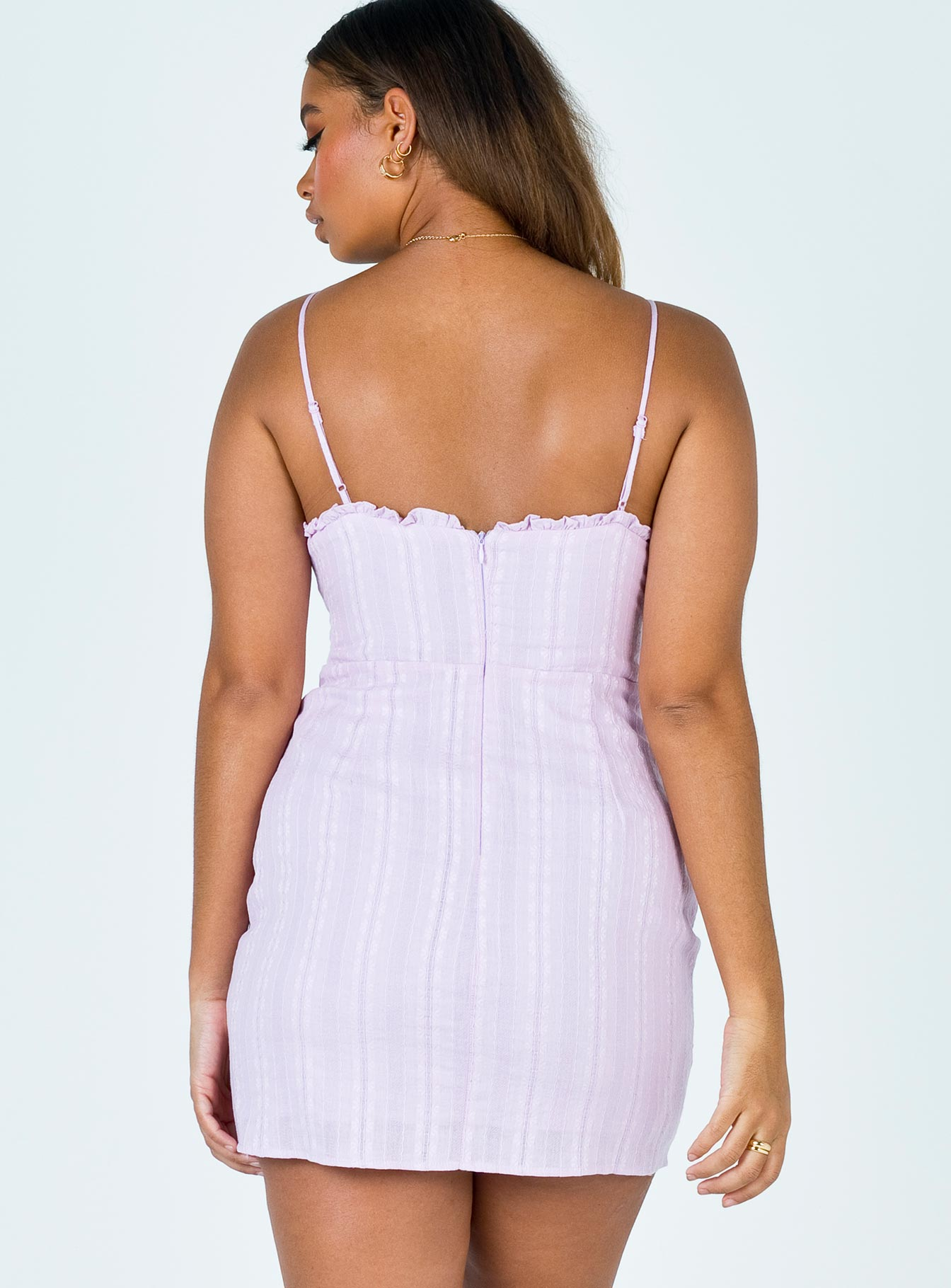 Layland Mini Dress Purple