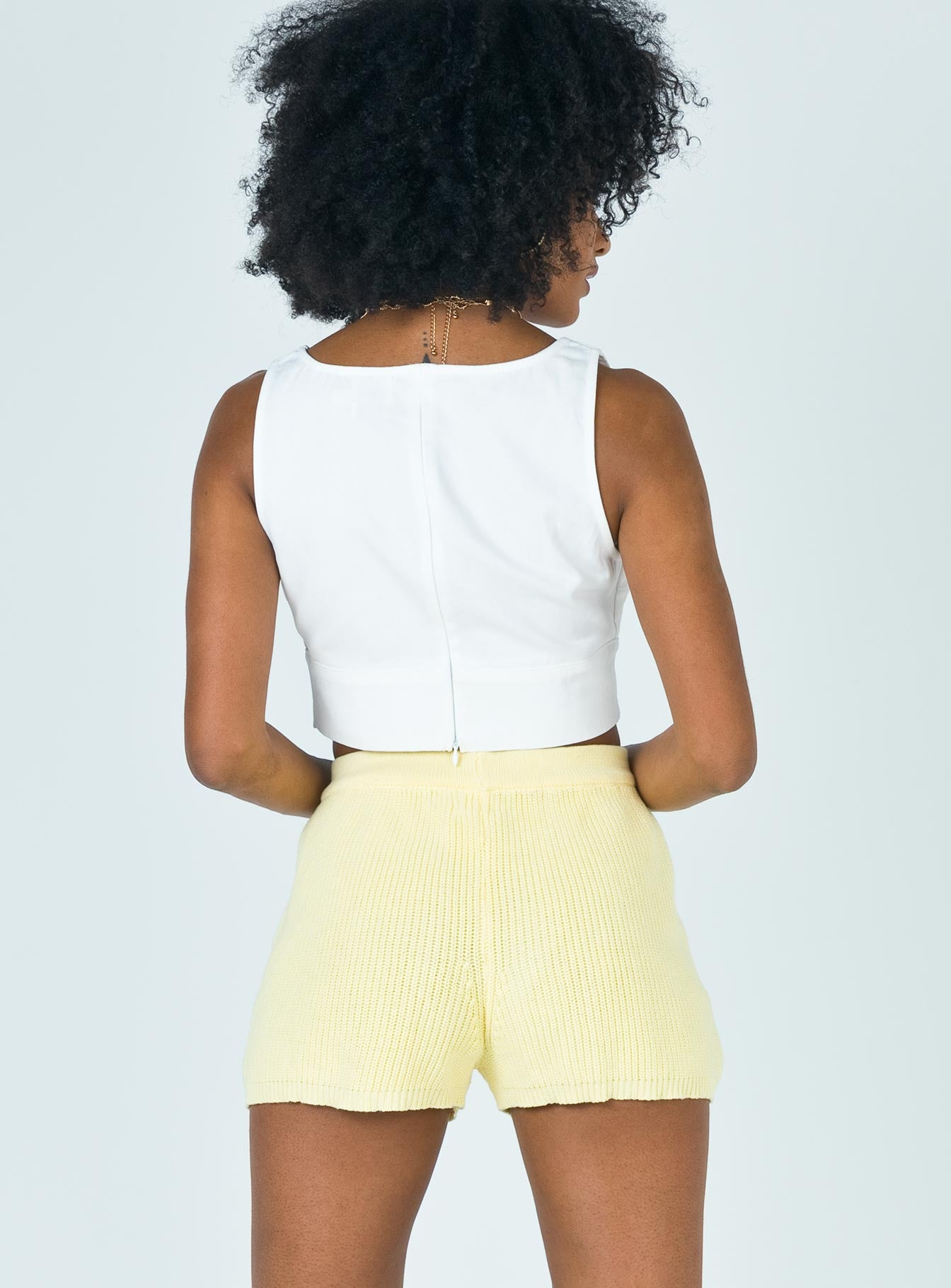 Maisy Shorts Yellow