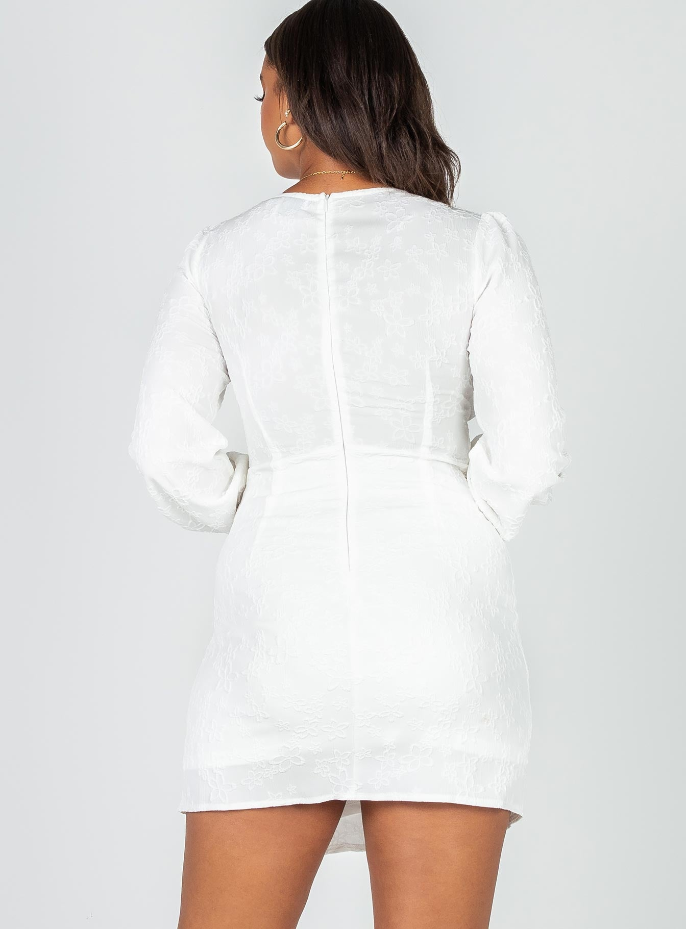 Blaire Mini Dress White